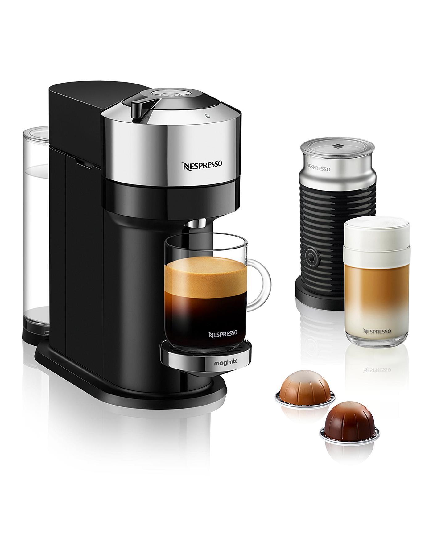 Nespresso Vertuo Chrome Coffee Machine