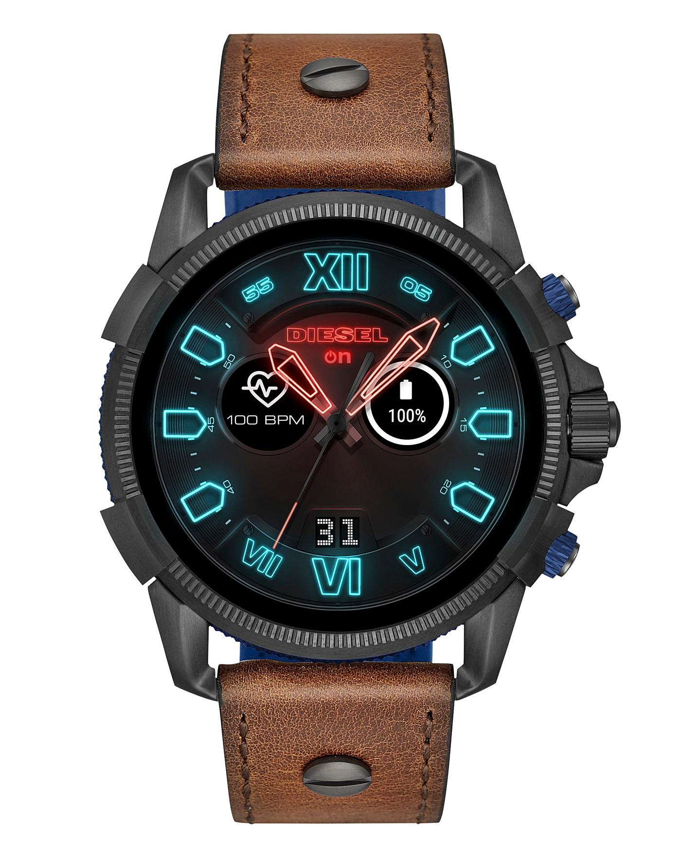 a2b7bd215 Diesel Full Guard strap Mens Smartwatch | Simply Be