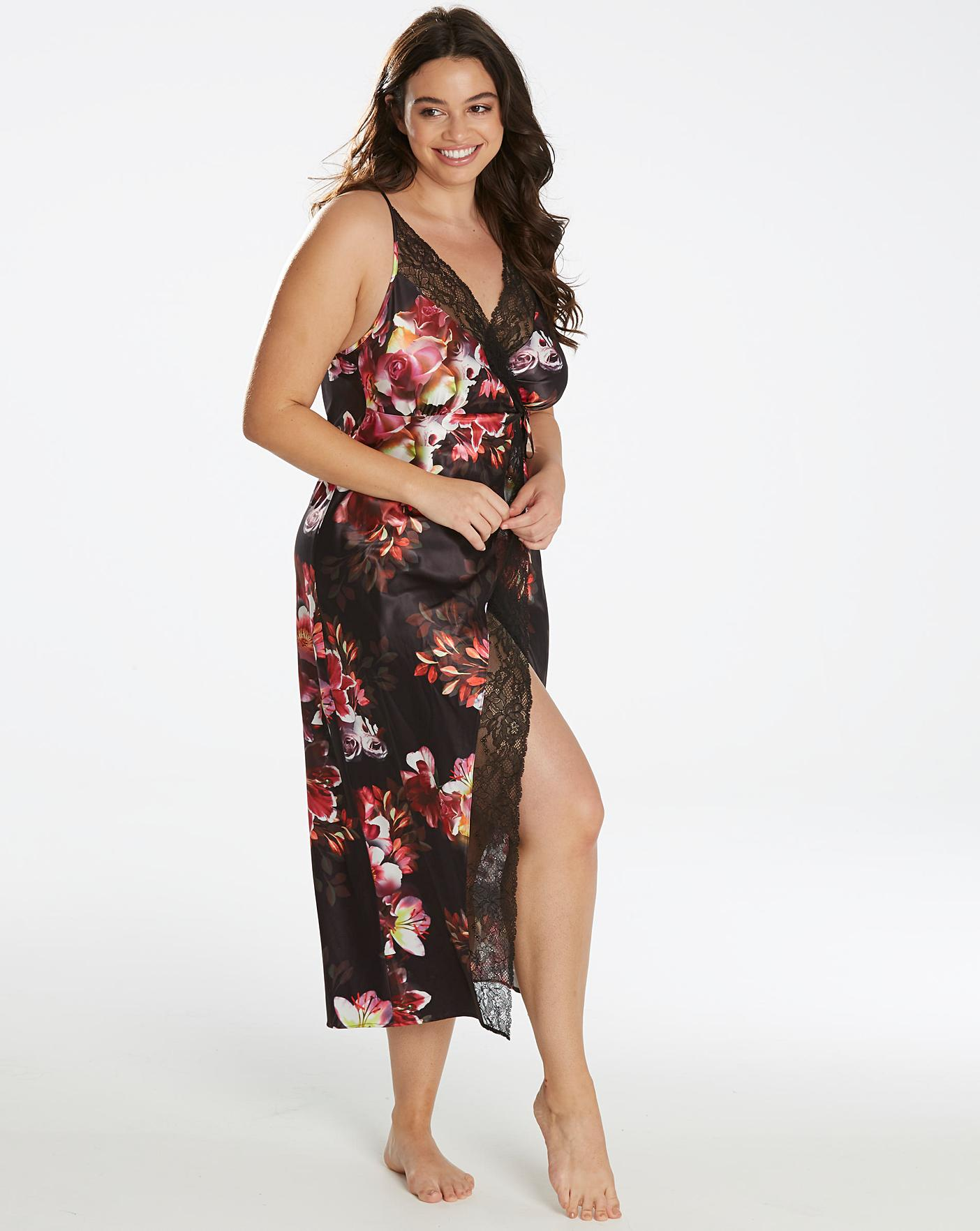 5fe2c22b3 Figleaves Curve Lace Blossom Chemise