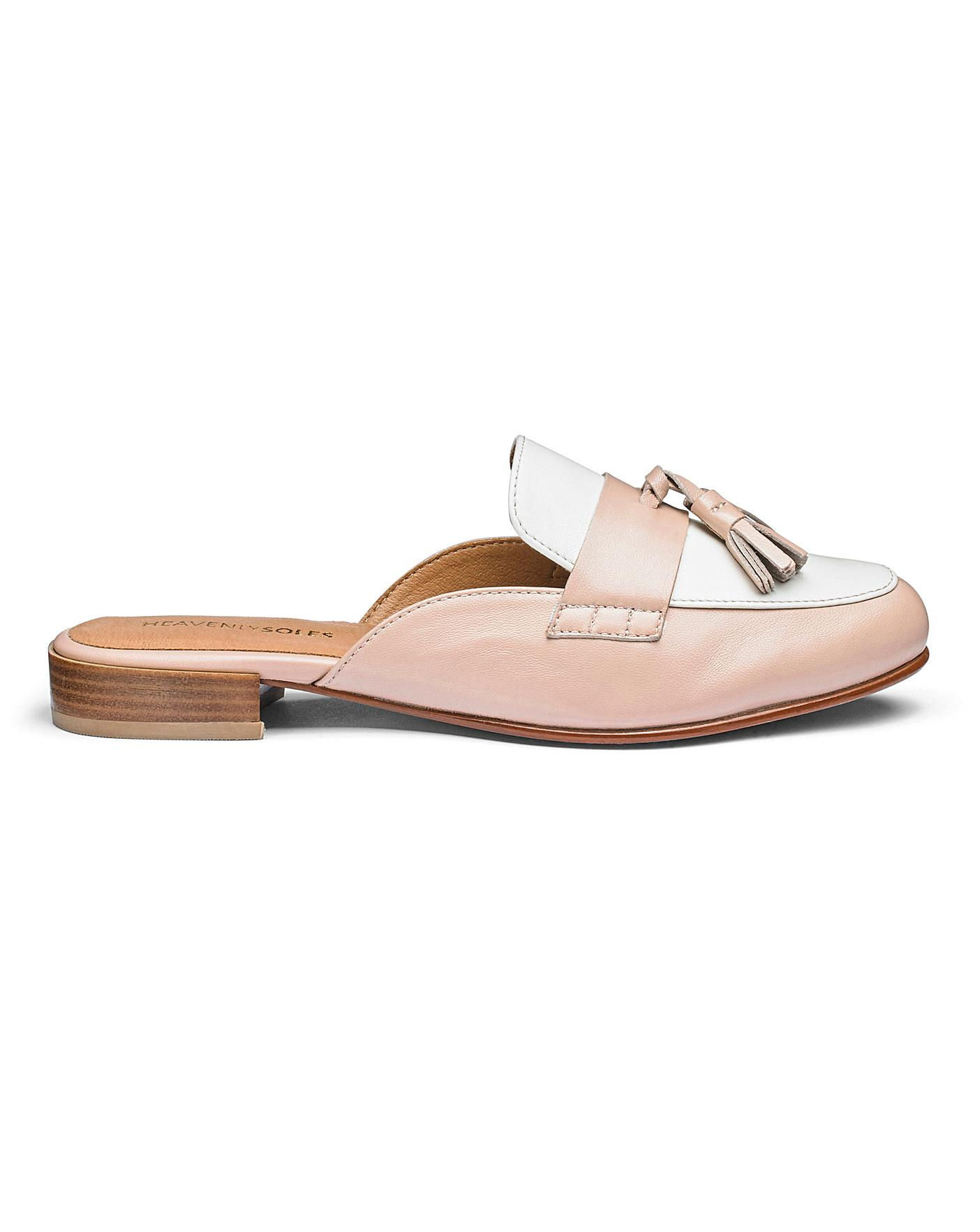 Womens Heavenly Soles Tassel Shoes Simply Be