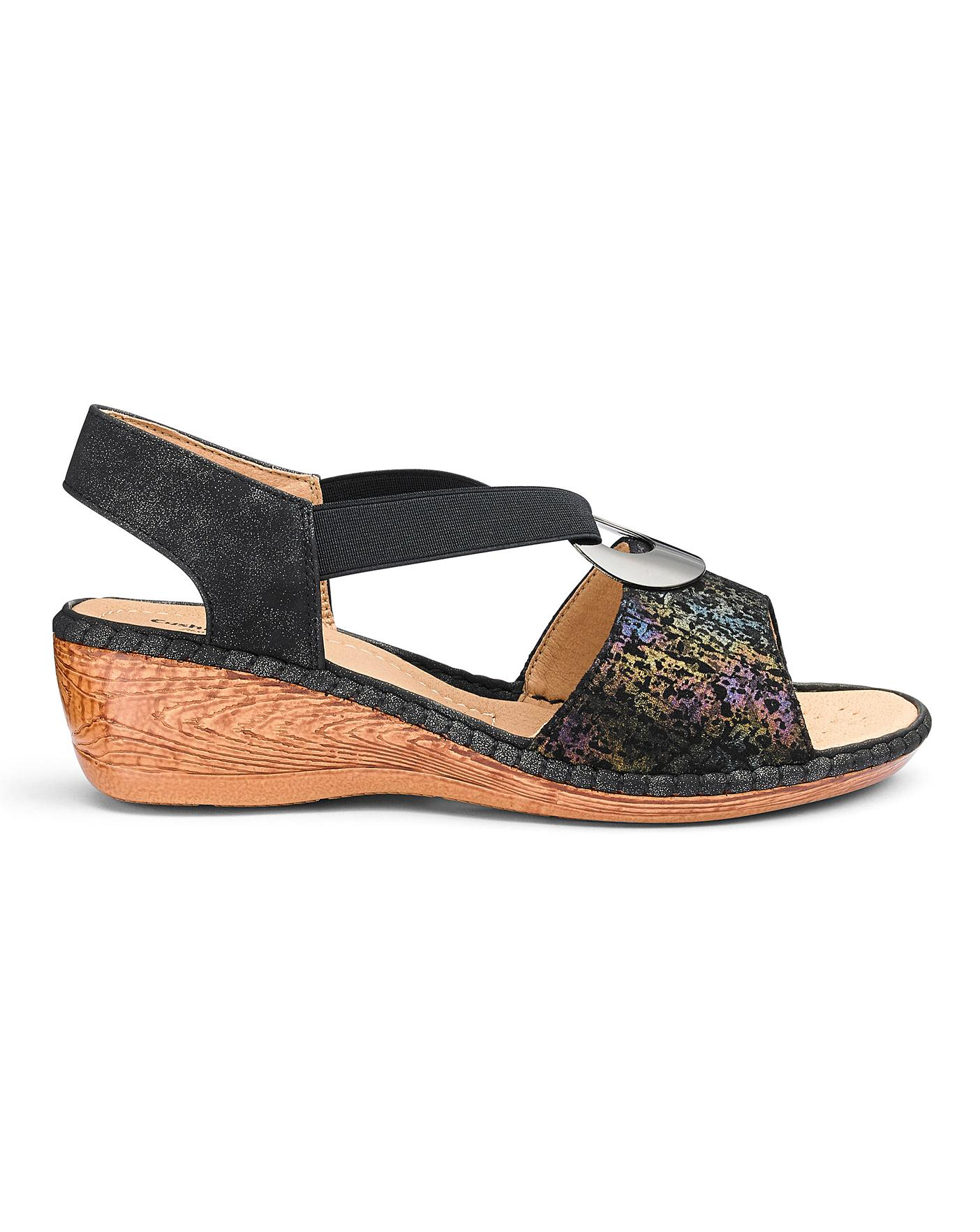 Cushion Walk Sandals EEE Fit   J D Williams