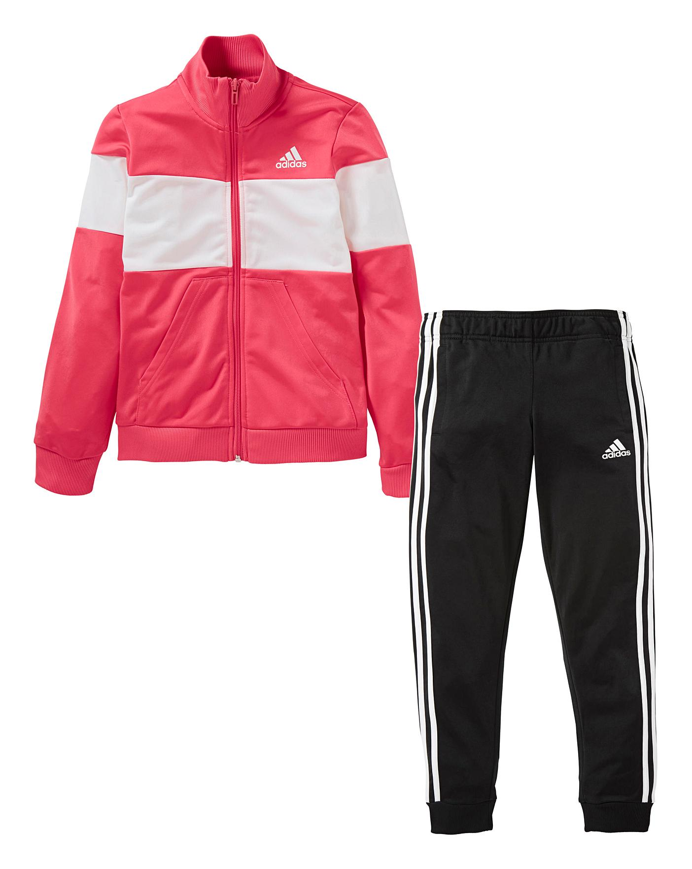 adidas Younger Girls Tracksuit | Oxendales