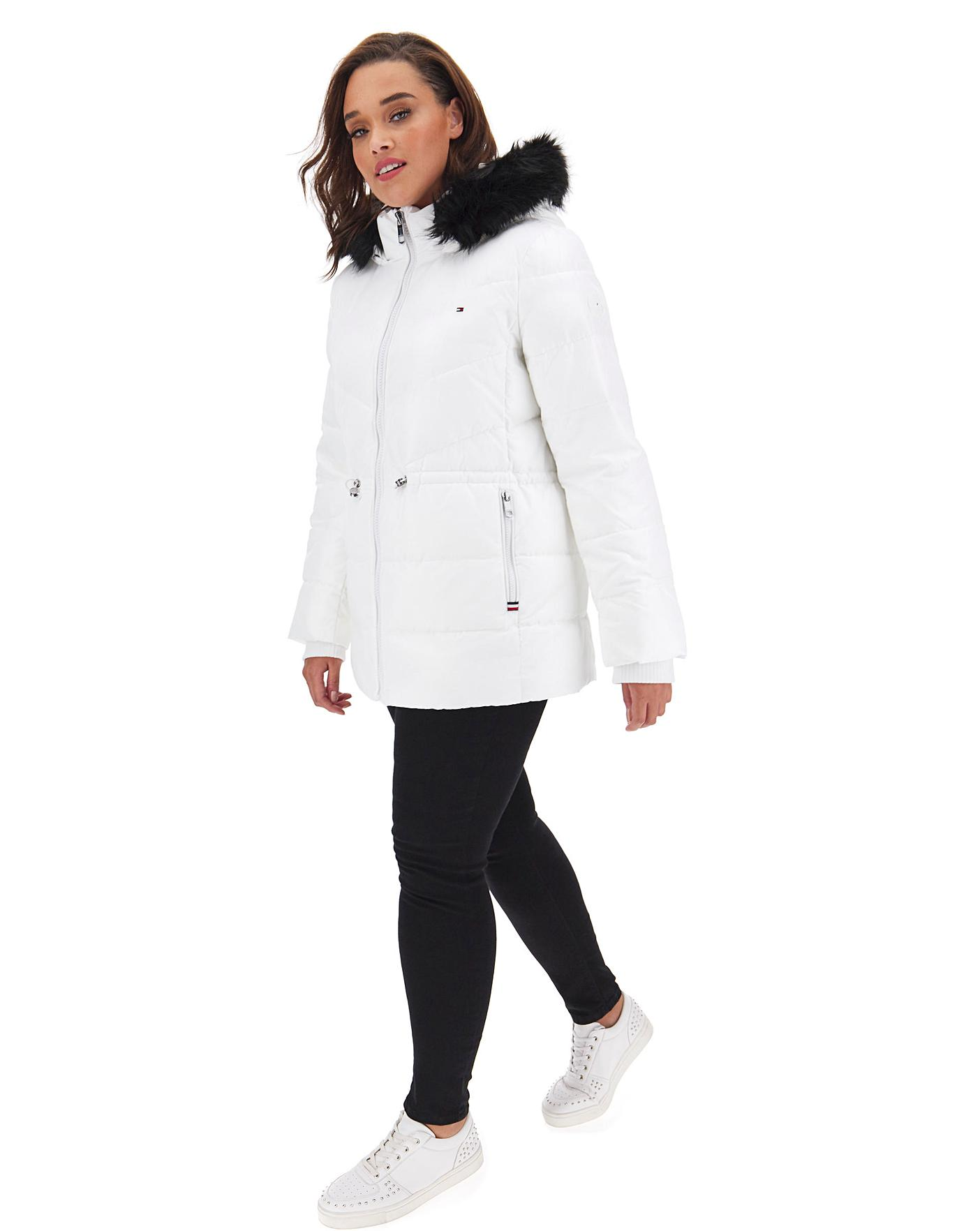 Tommy Hilfiger Girls Recycled Short Puffer Jacket