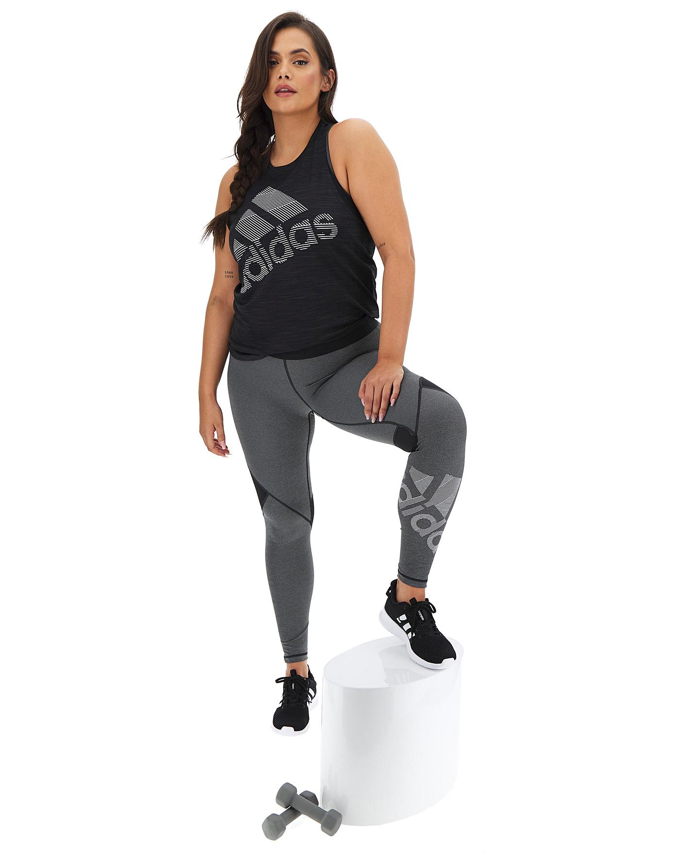 Adidas Badge Of Sport Tight by Simply Be