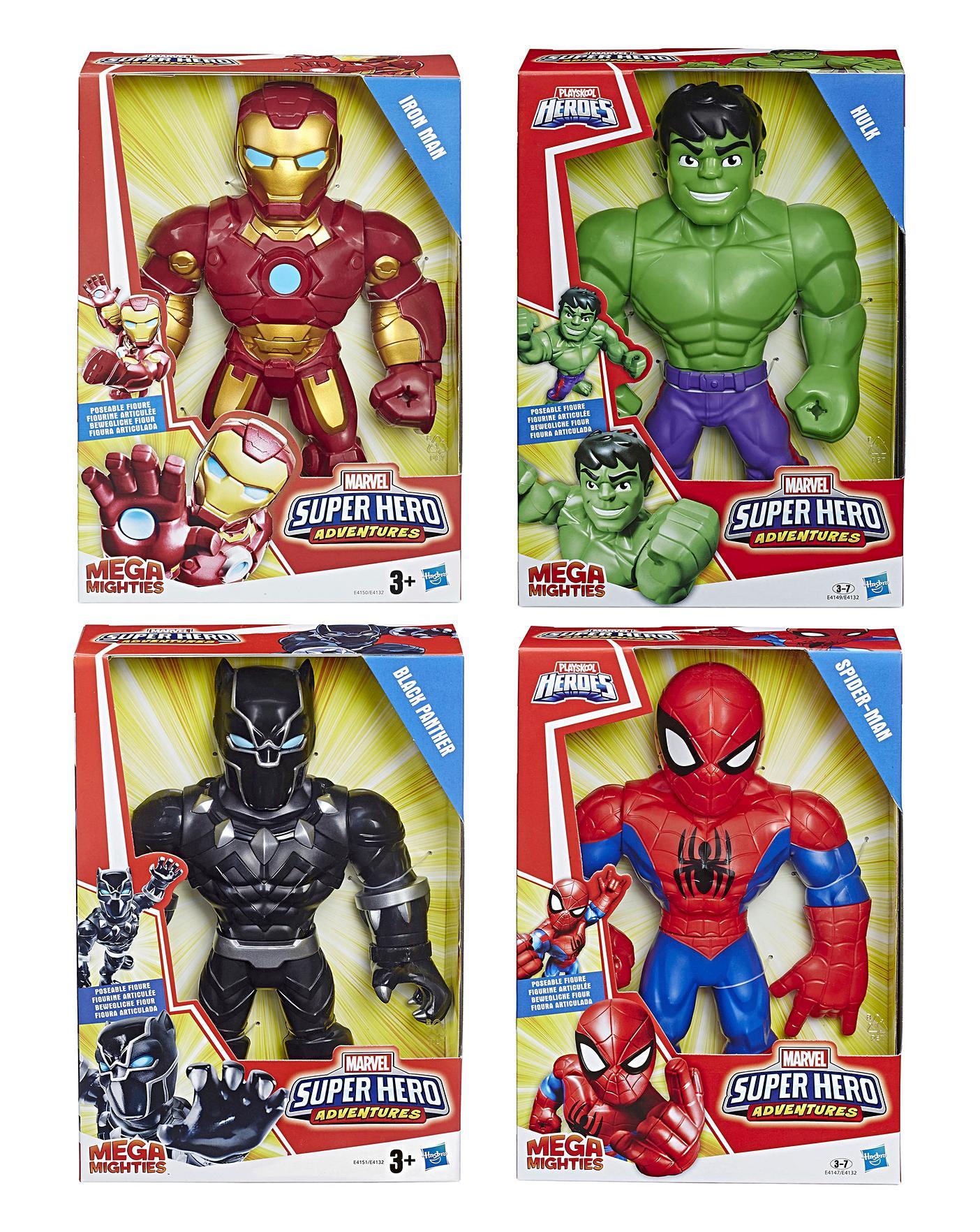 Marvel Super Hero Adventures Mega Mat Hulk Figure