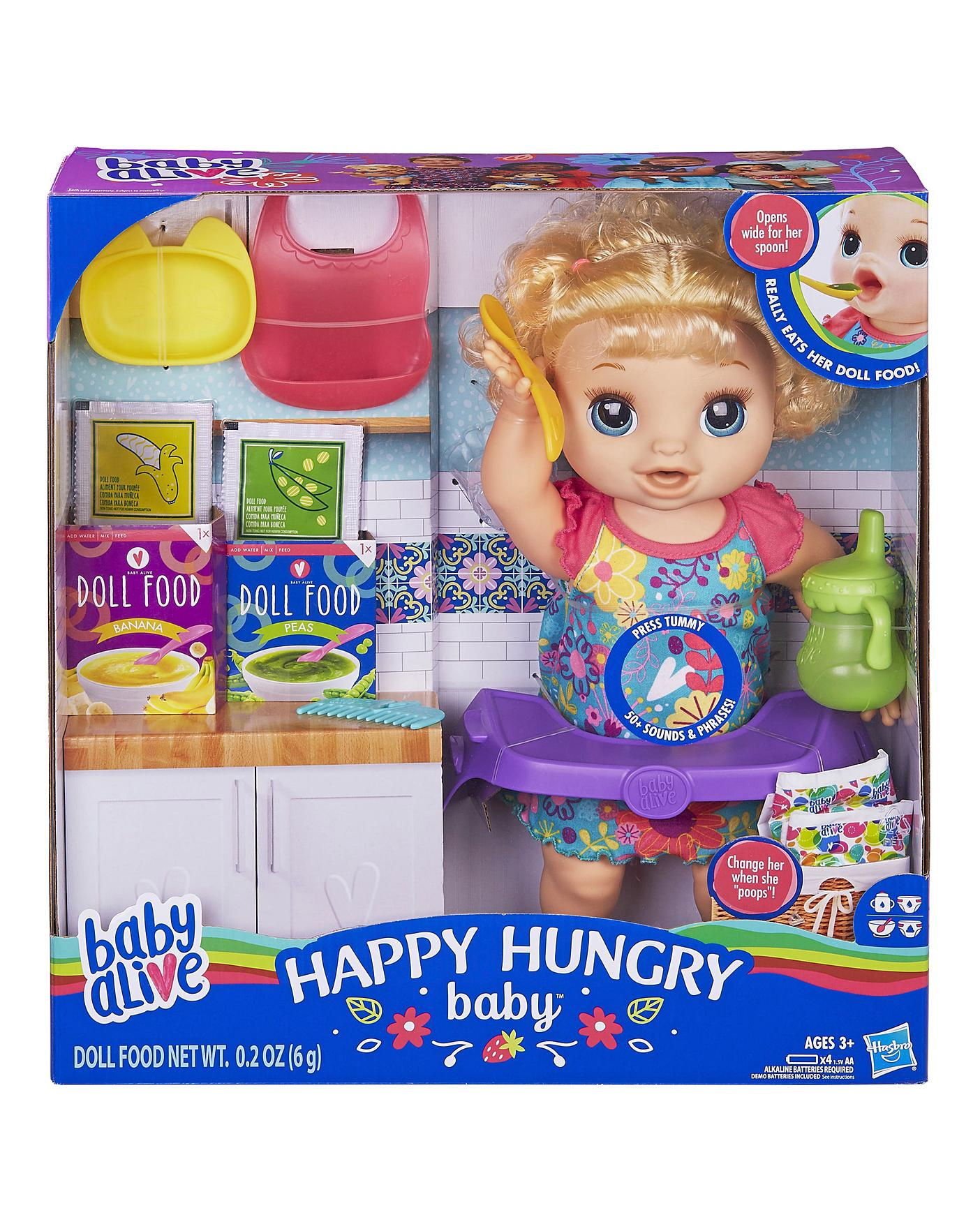 Baby Alive Happy Hungry Baby