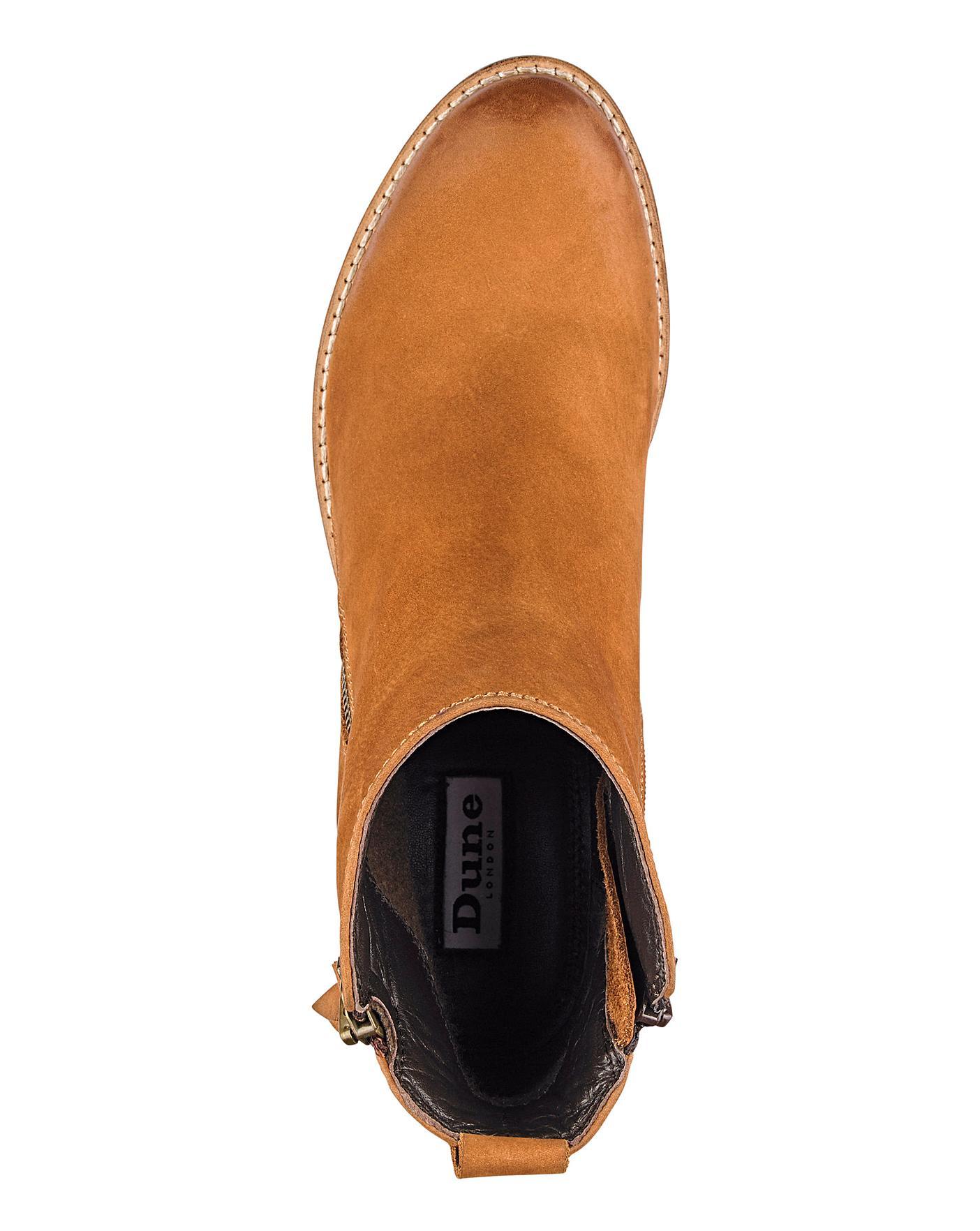 Dune Wide Fit Pontoon Zip Boot | J D