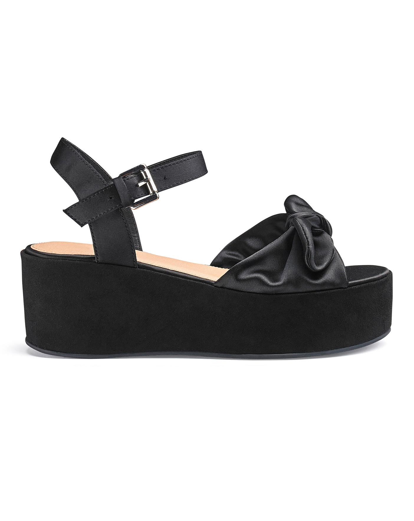flatform wide fit sandals