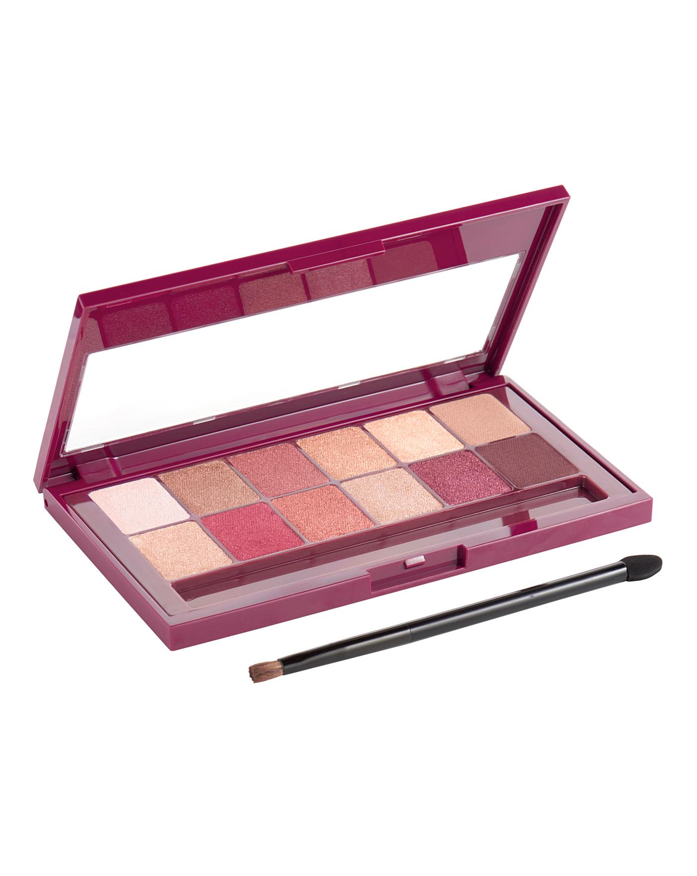 6e872fc4ebd Maybelline Burgundy Bar Eye Palette | Simply Be