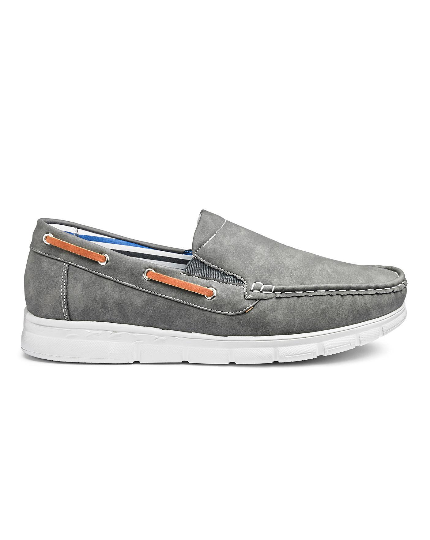 Cushion Walk Slip On Boat Shoes Wide