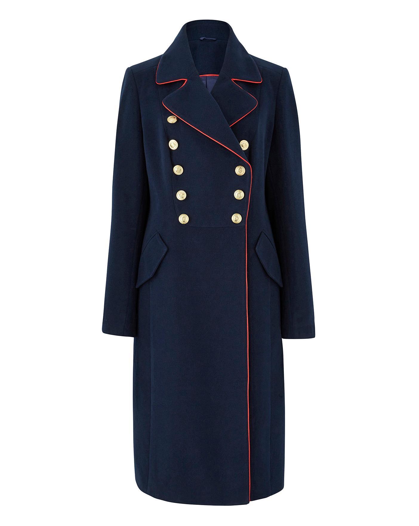 Joanna Hope Military Coat