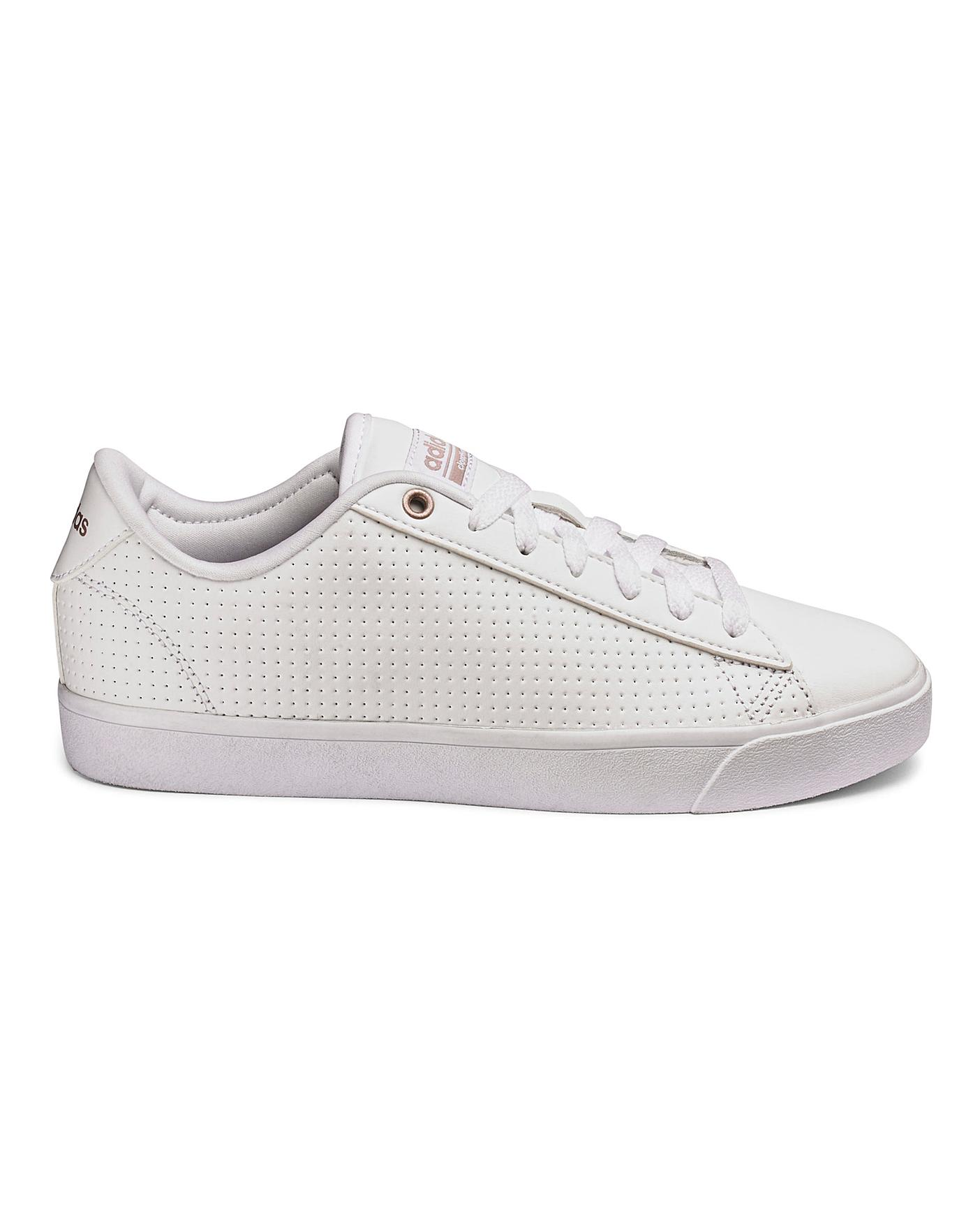 ADIDAS DAILY QT CLEAN TRAINERS | Oxendales