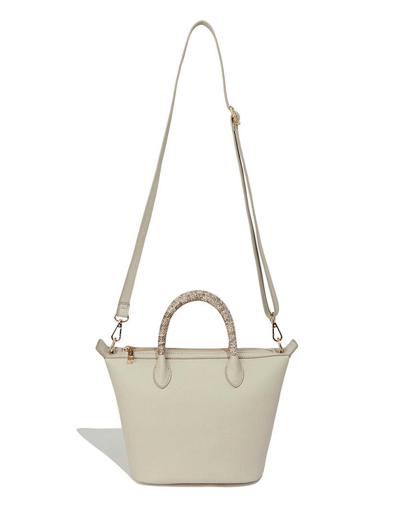 Oasis Ella Snake Handle Crossbody Bag