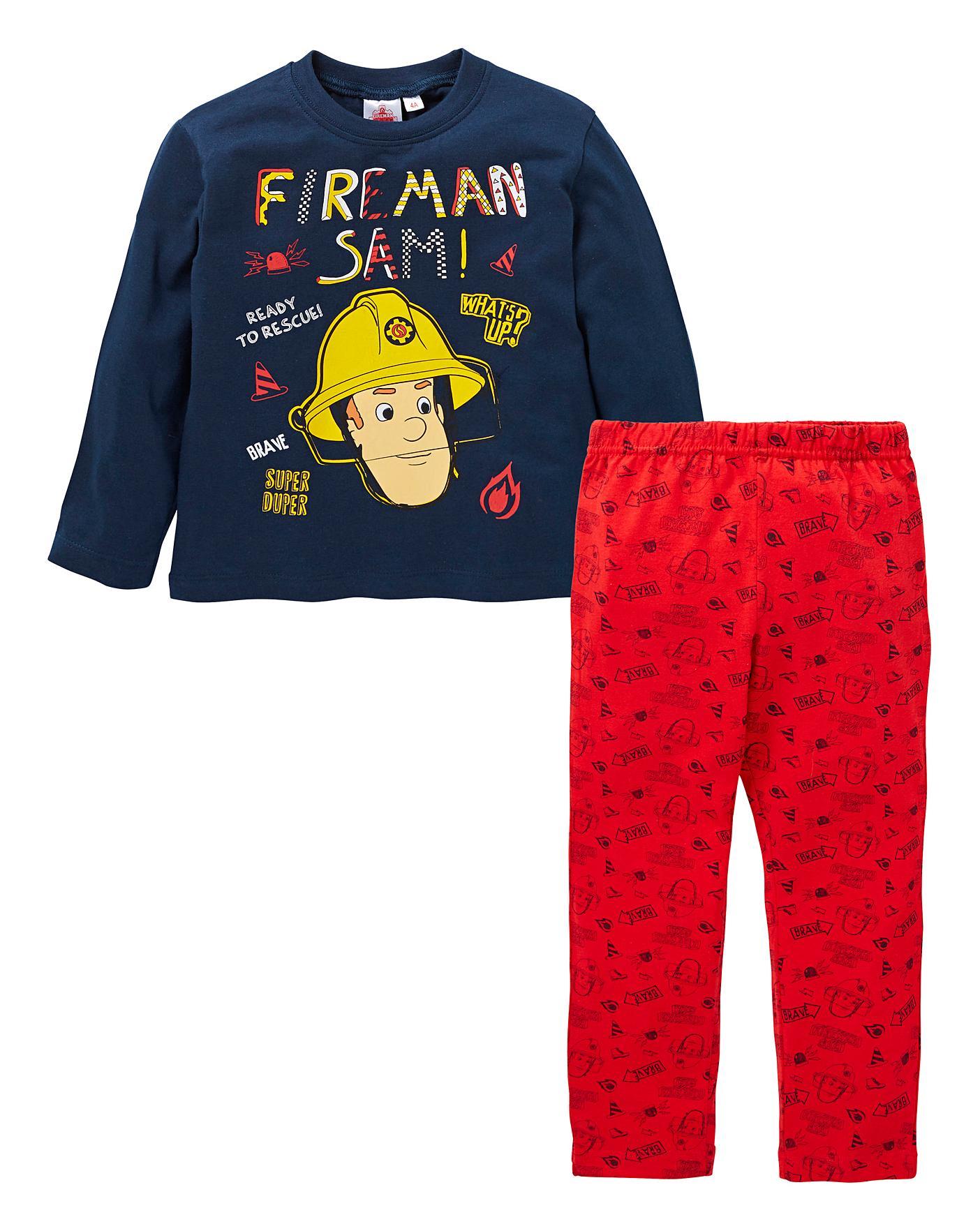 Fireman Sam Boys Pajamas