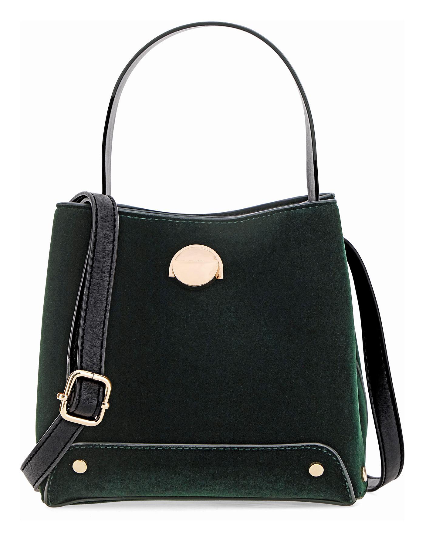 Oasis Velvet Tote Bag Ambrose Wilson