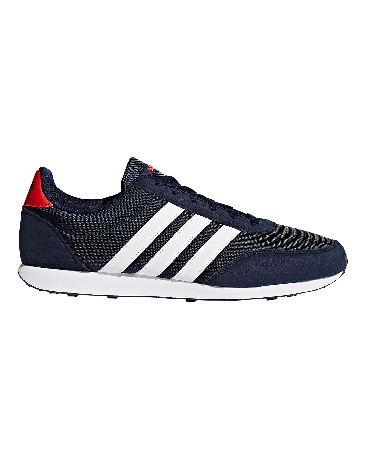 pared diseñador Notorio  adidas V Racer 2.0 Trainers | J D Williams