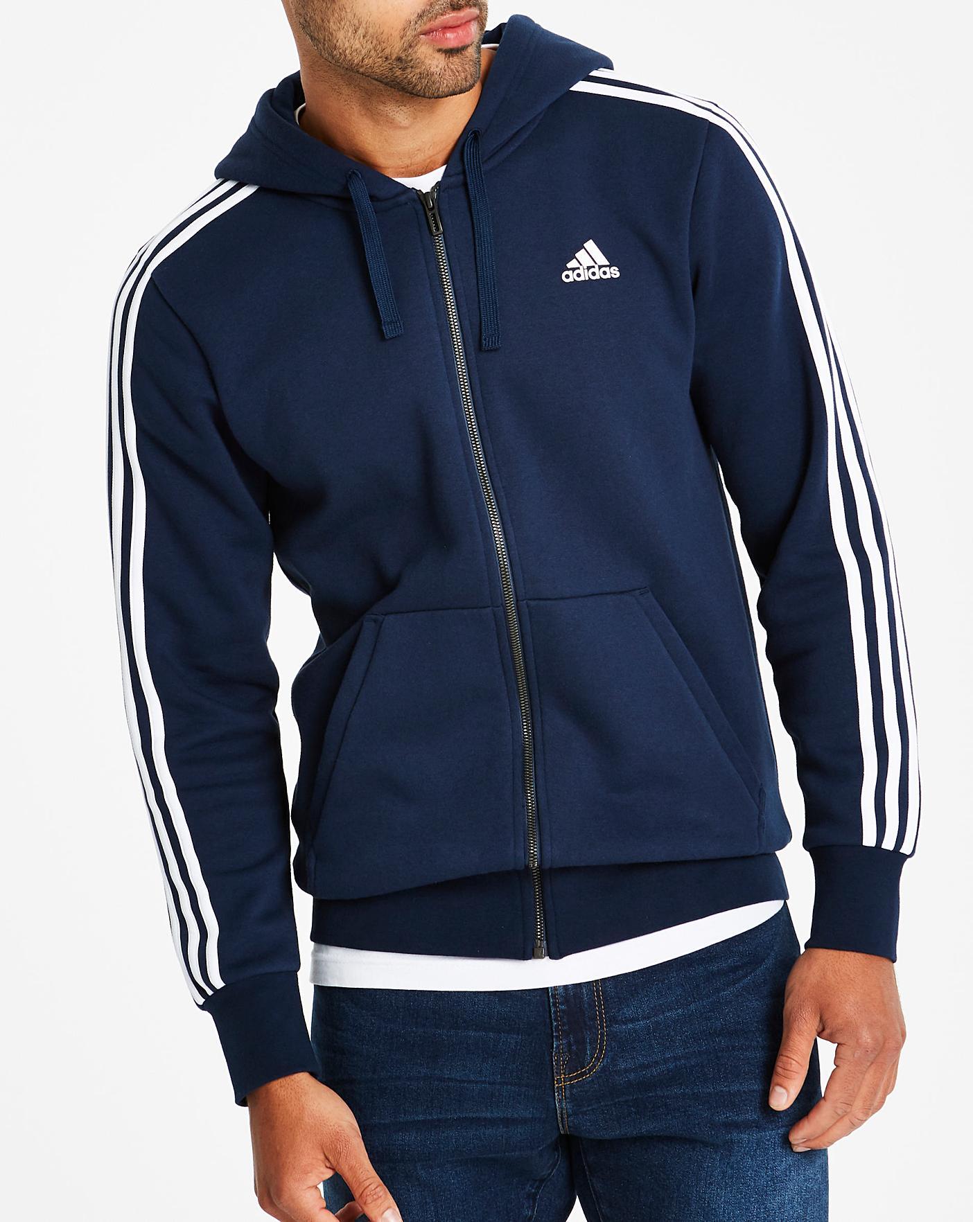 adidas navy blue hoodie