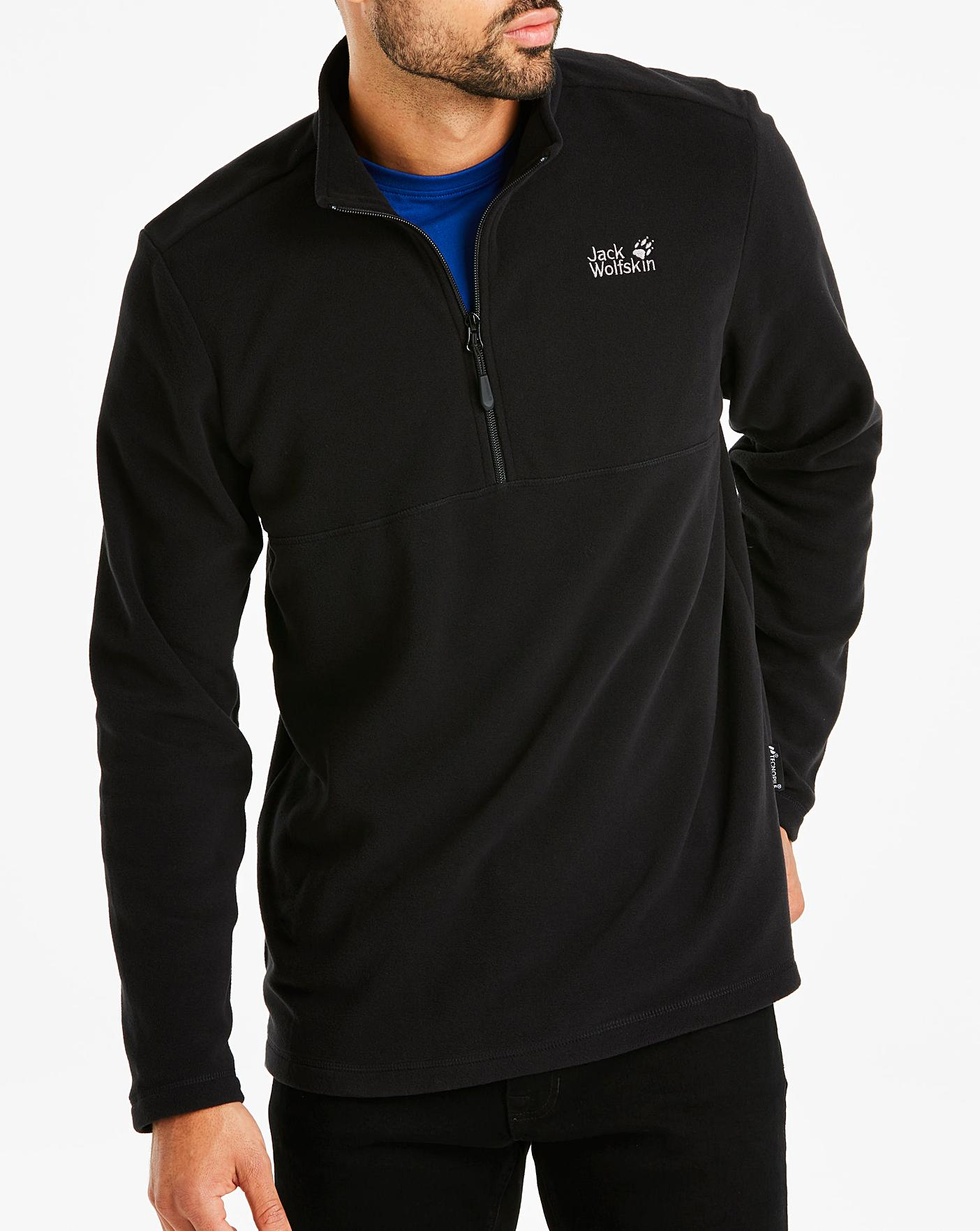new product 8a9fa a1b30 Jack Wolfskin BlackGecko Fleece Tracktop