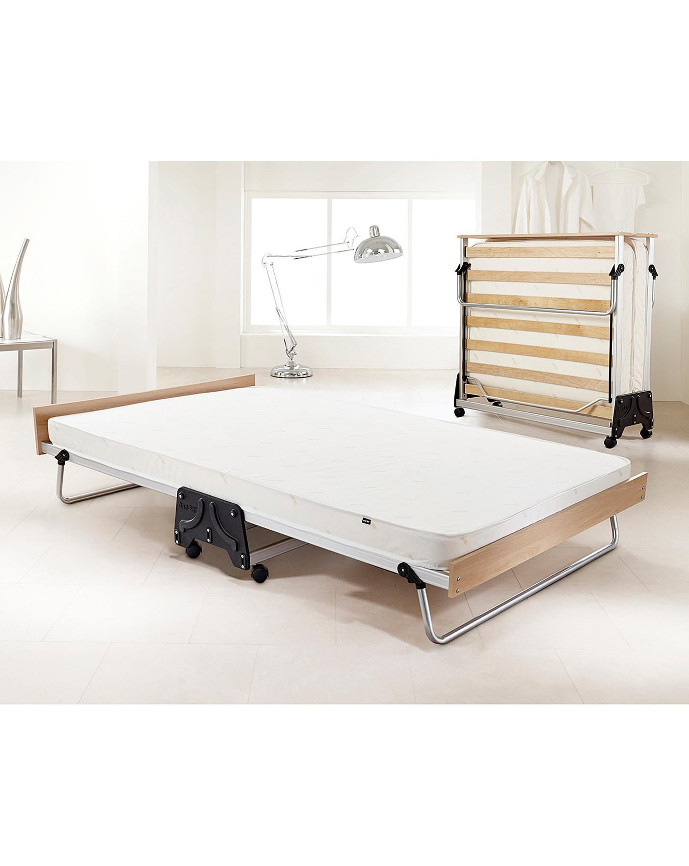 Picture of: J Bed Double Fold Bed E Fibre Mattress J D Williams