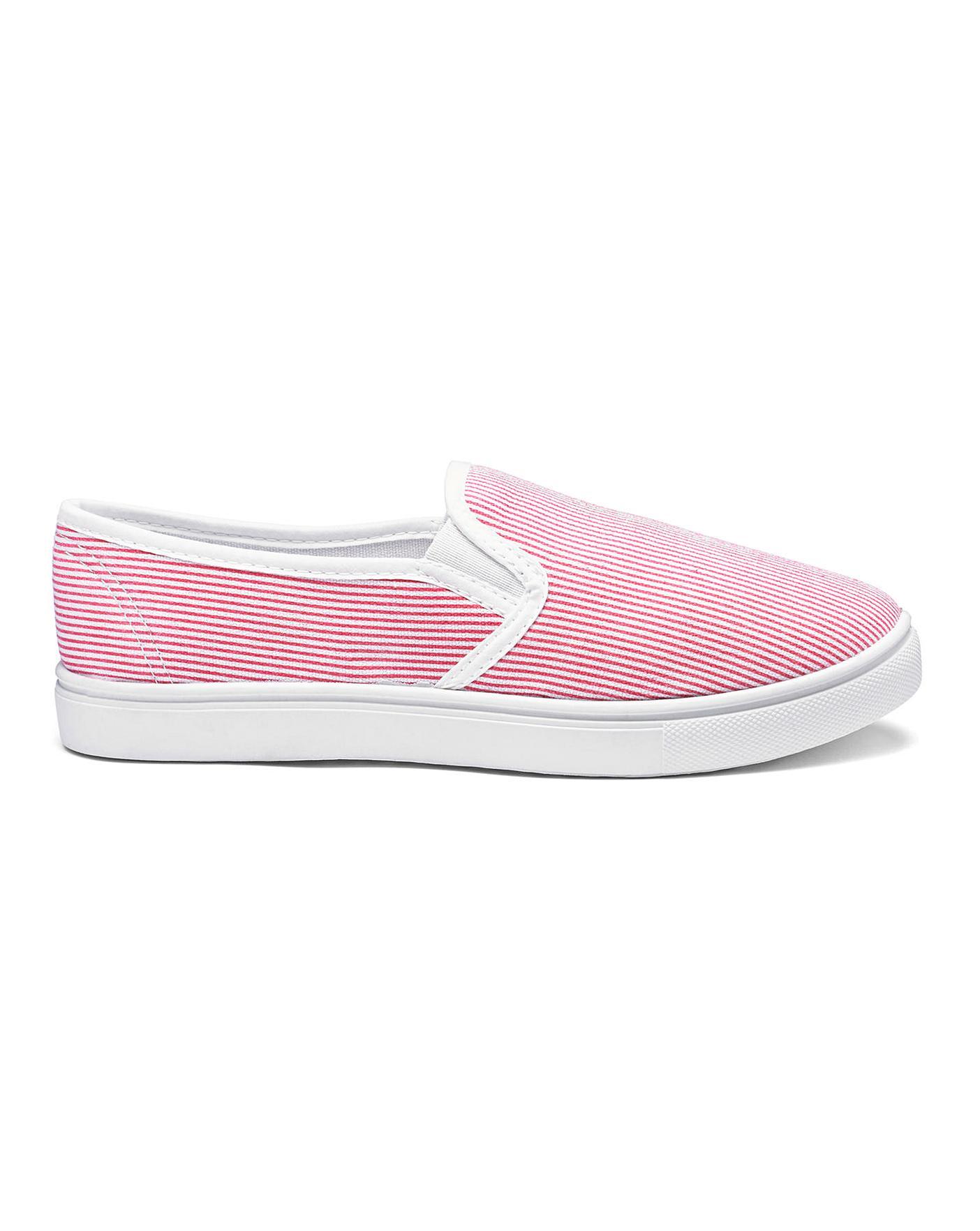 b661088e23f Heavenly Soles Canvas Shoes E Fit