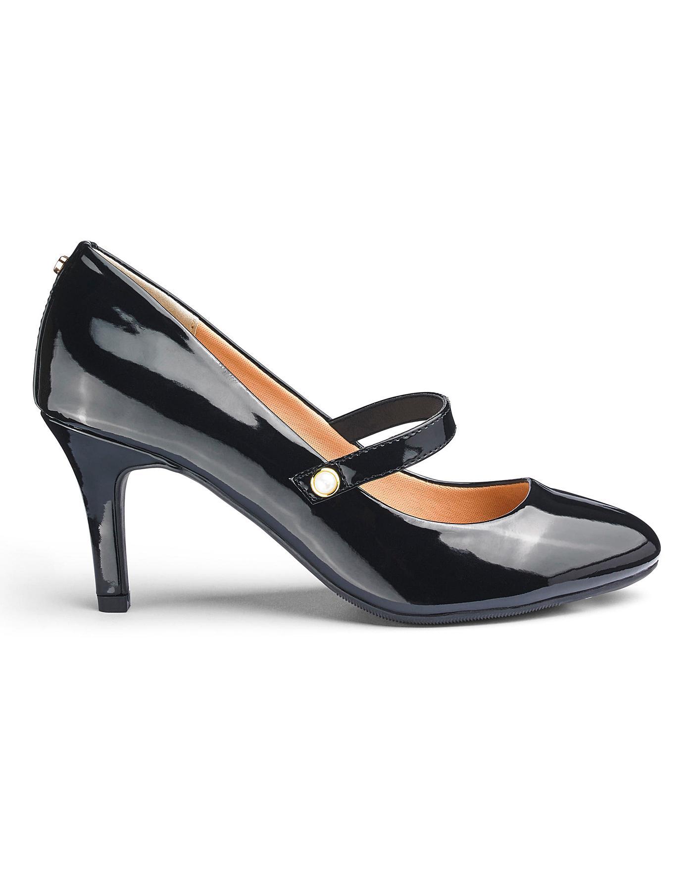 Heels Dune Ameliana Court Shoe   Oxendales