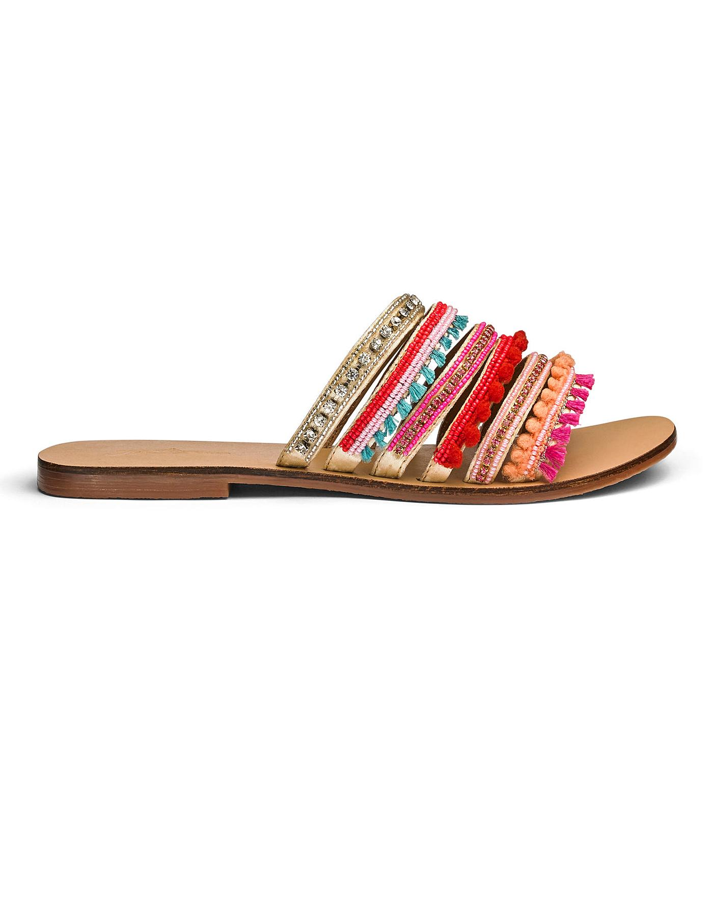 Joe Browns Jewel Sandal Wide Fit | Jacamo