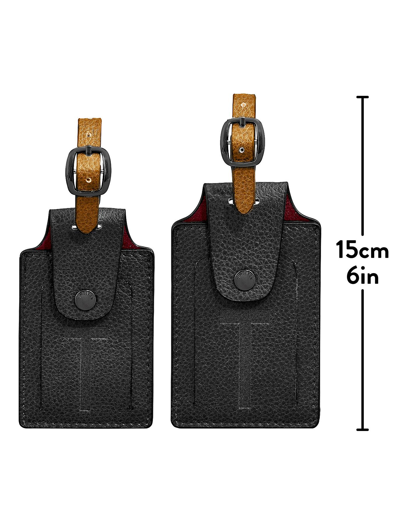 official shop clearance prices buying cheap Ted Baker Luggage Tag set of 2