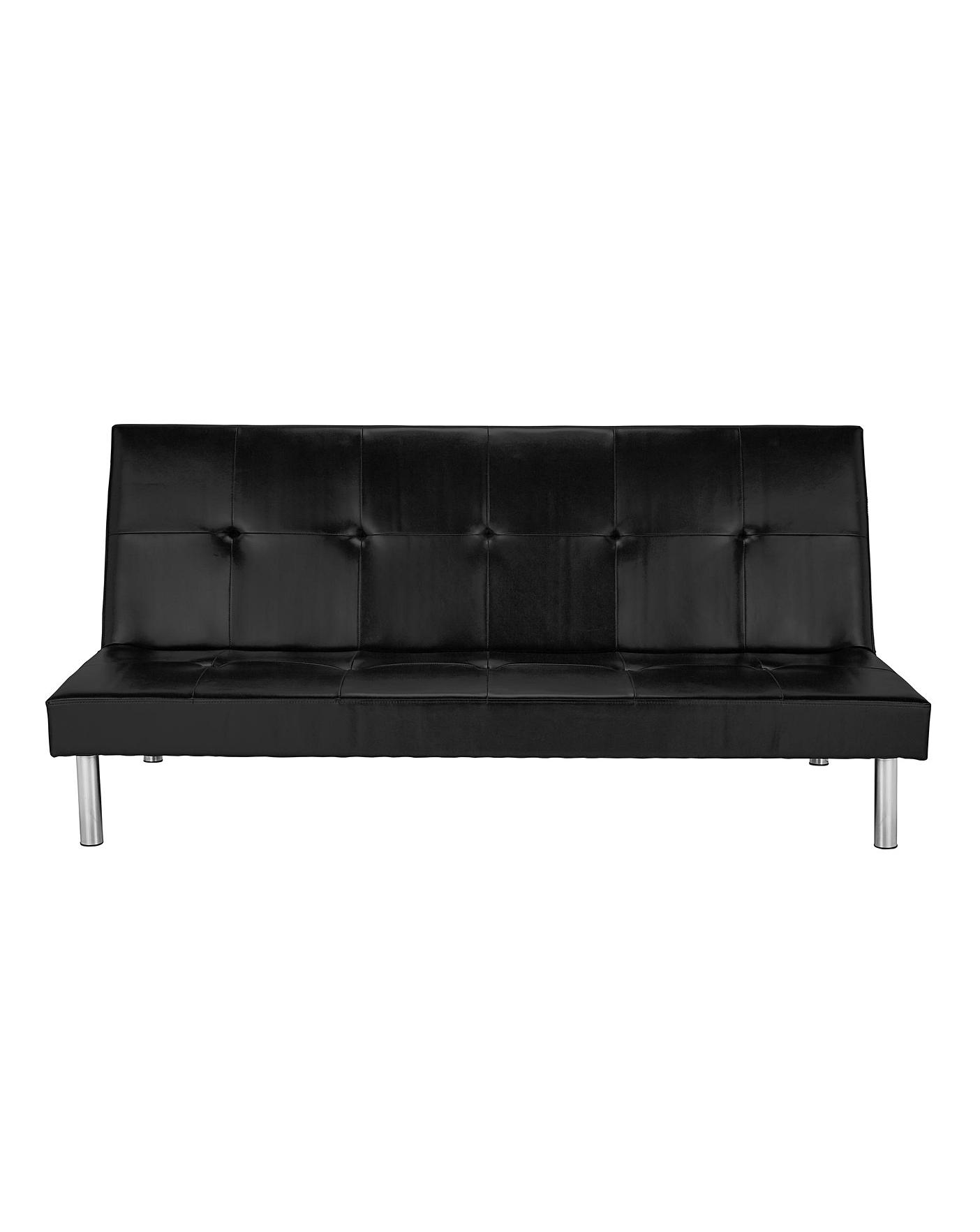 Bailey Faux Leather Click Clack Sofabed Oxendales