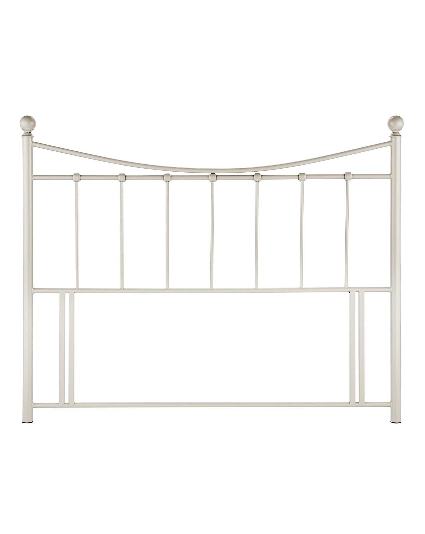 Lucy Metal Headboard Oxendales