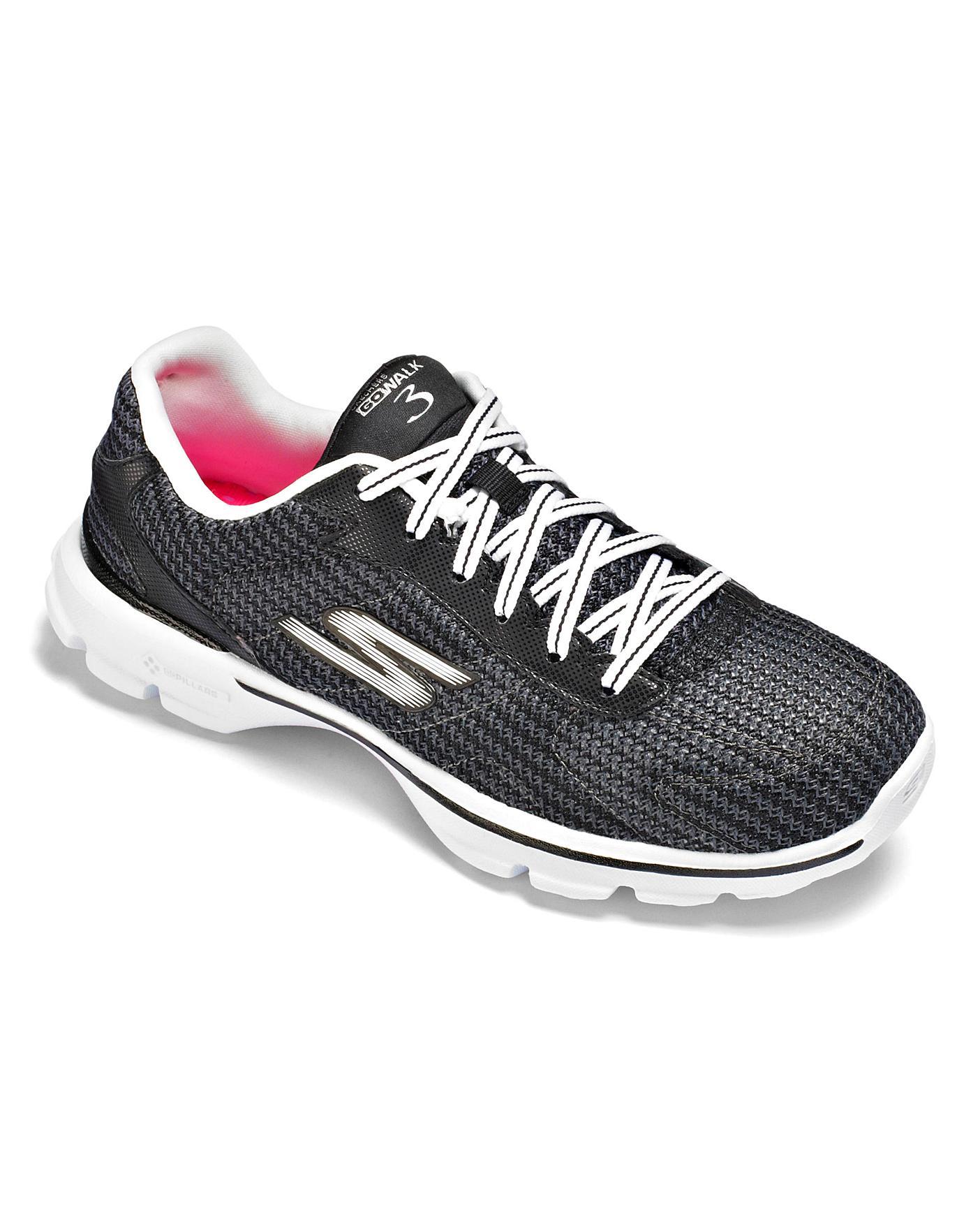 2ff8f7f9163c Skechers Go Walk 3 Trainers Std Fit