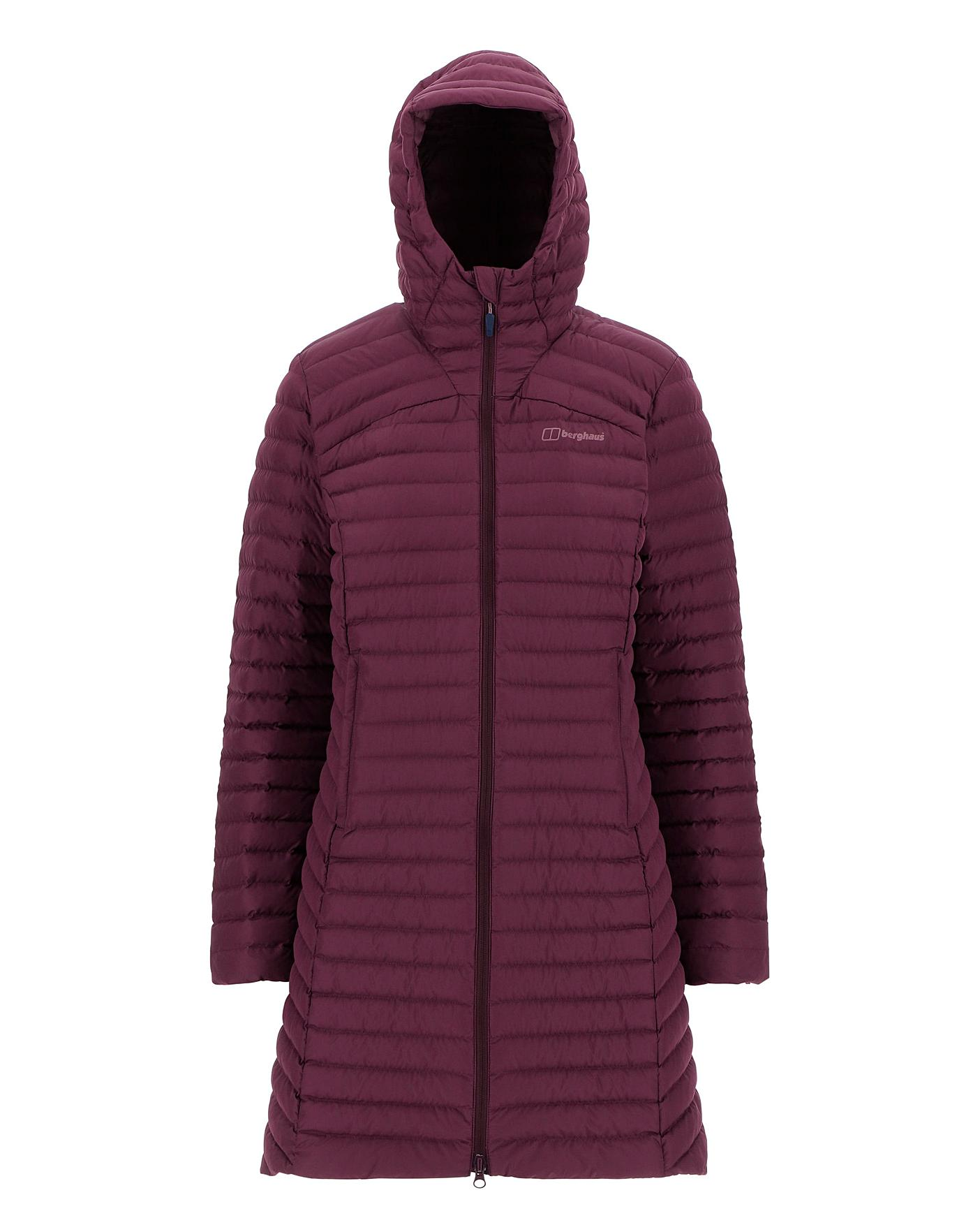 online retailer a70b3 38465 Berghaus Nula Micro Long Jacket