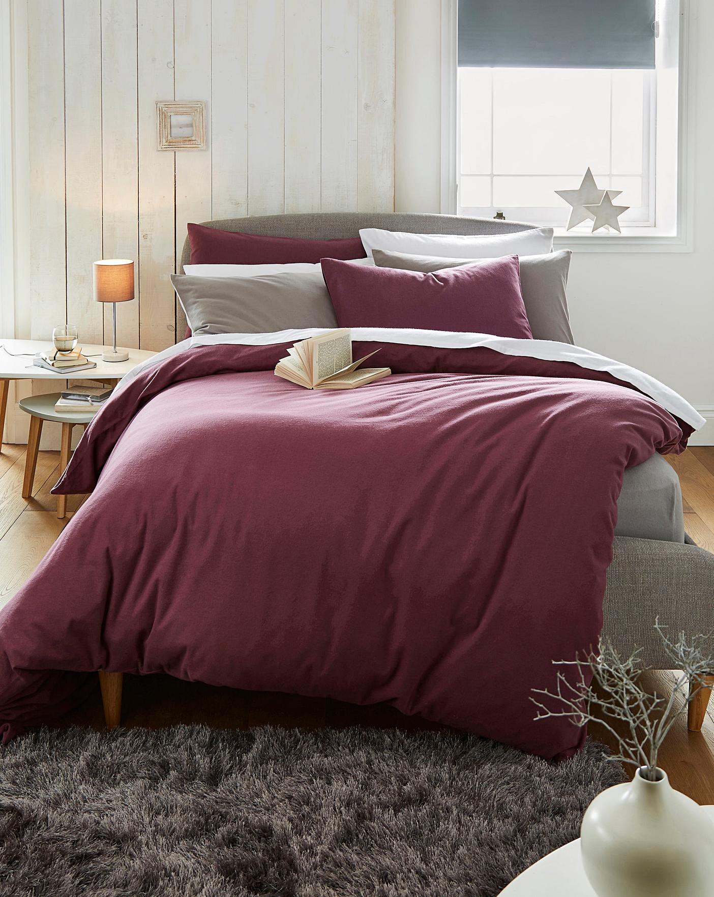 Soft Brushed Cotton Duvet Cover Oxendales