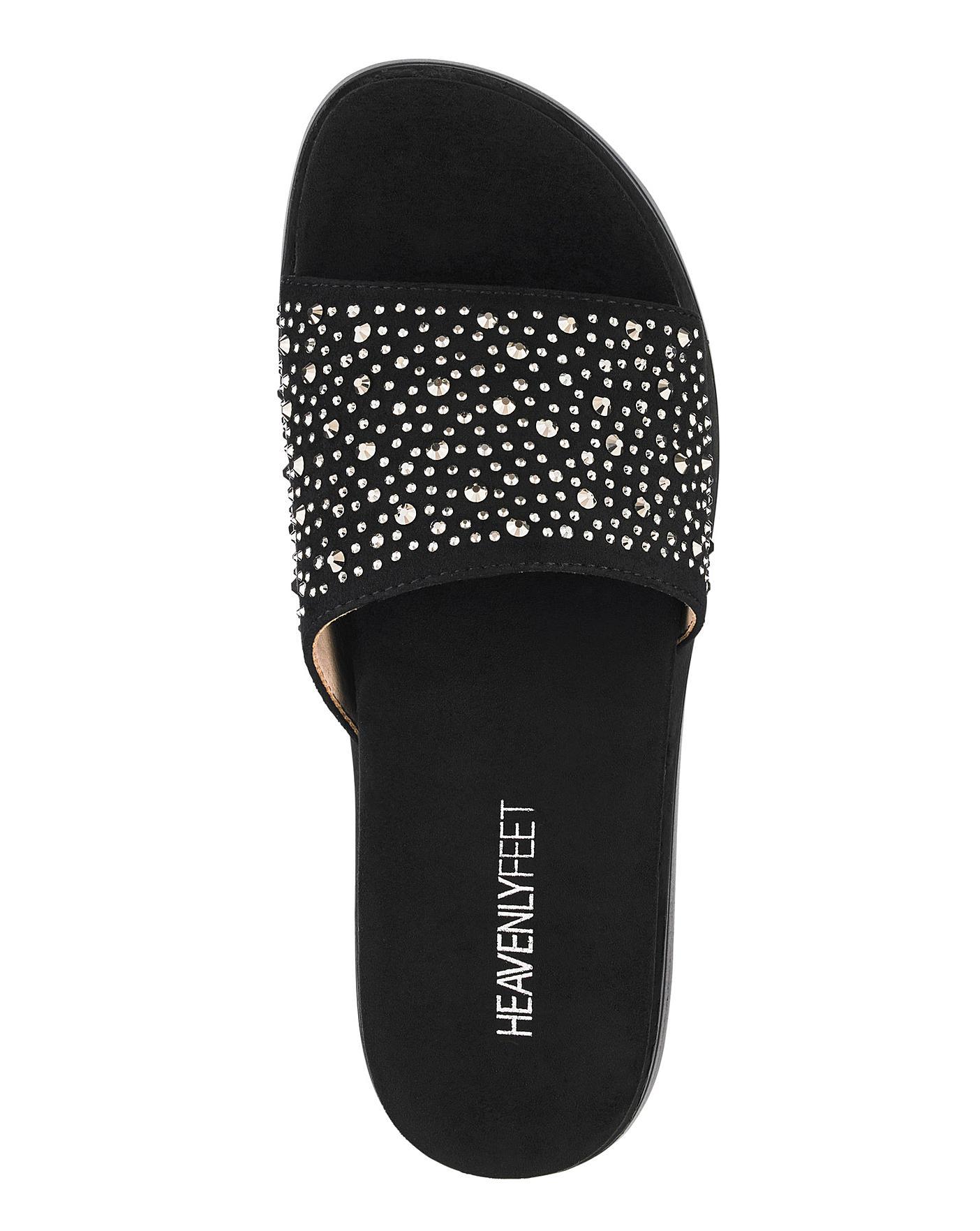 Heavenly Feet Mule Sandals E Fit Fashion World