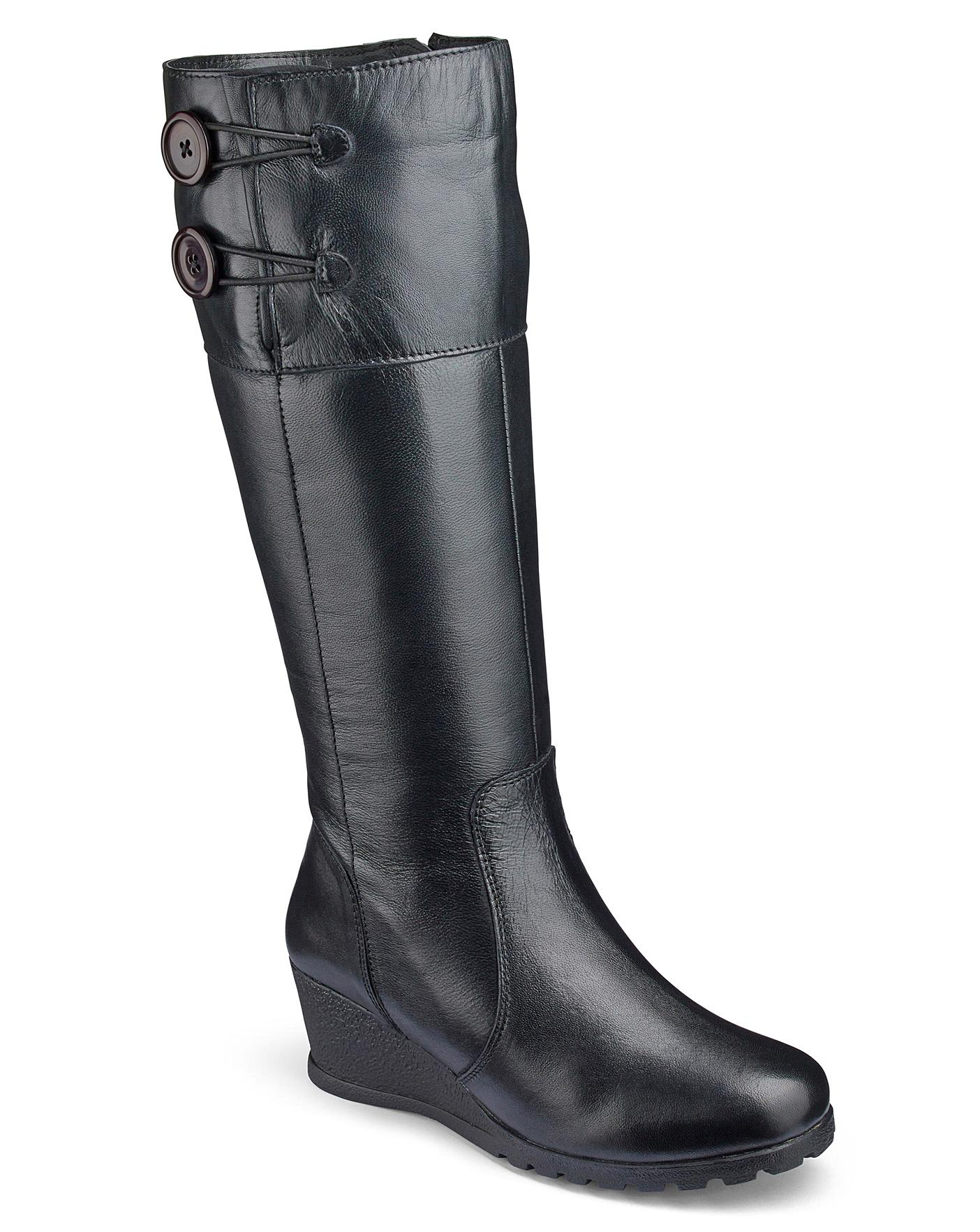 0aa5ef16169 Lotus High Leg Boots EEE Fit Standard