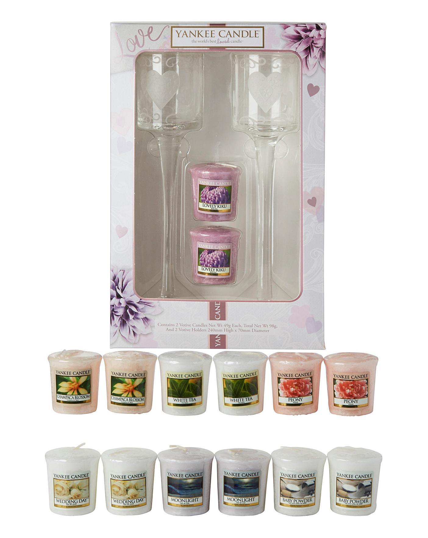 Yankee Candle Wedding Gift Set Bundle Home Beauty Amp Gift