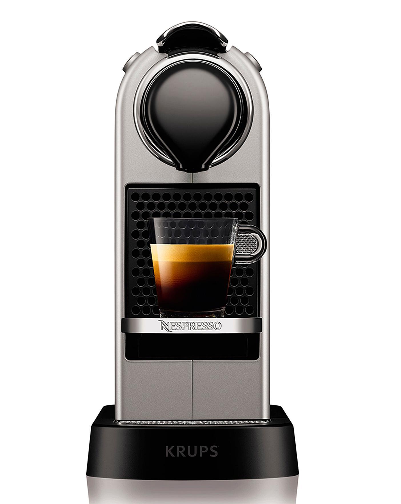 Nespresso Citiz Silver Coffee Machine | J D Williams