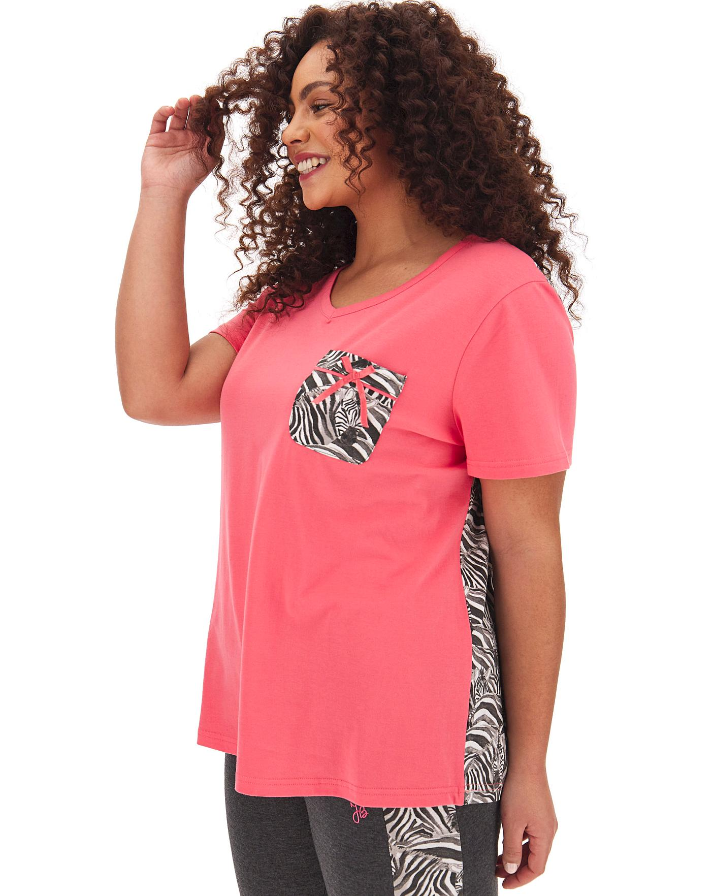 speical offer new high quality new release Joe Browns Zebra Print Jersey Top | Simply Be