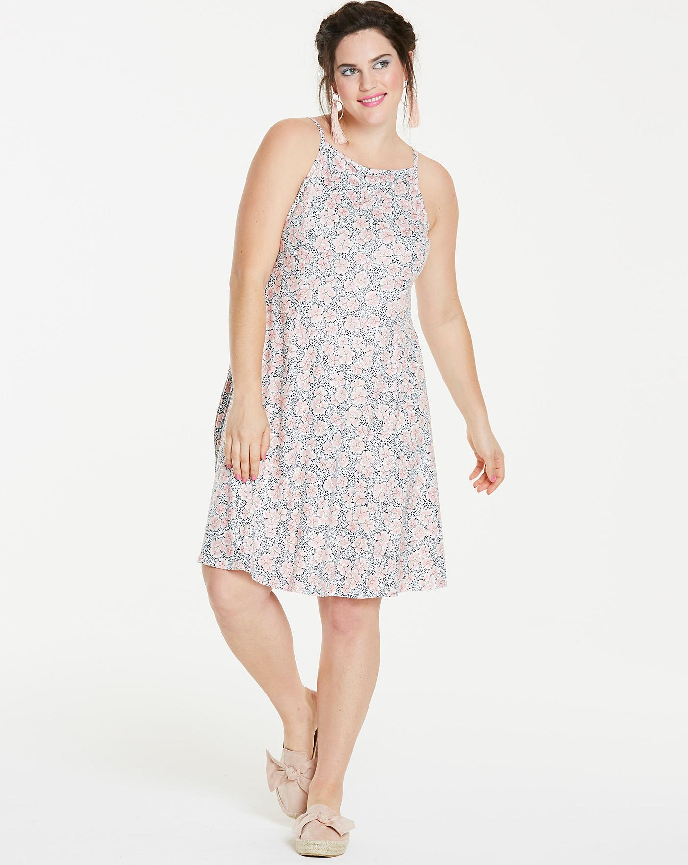 0f046aebe428 Jersey Skater Dress