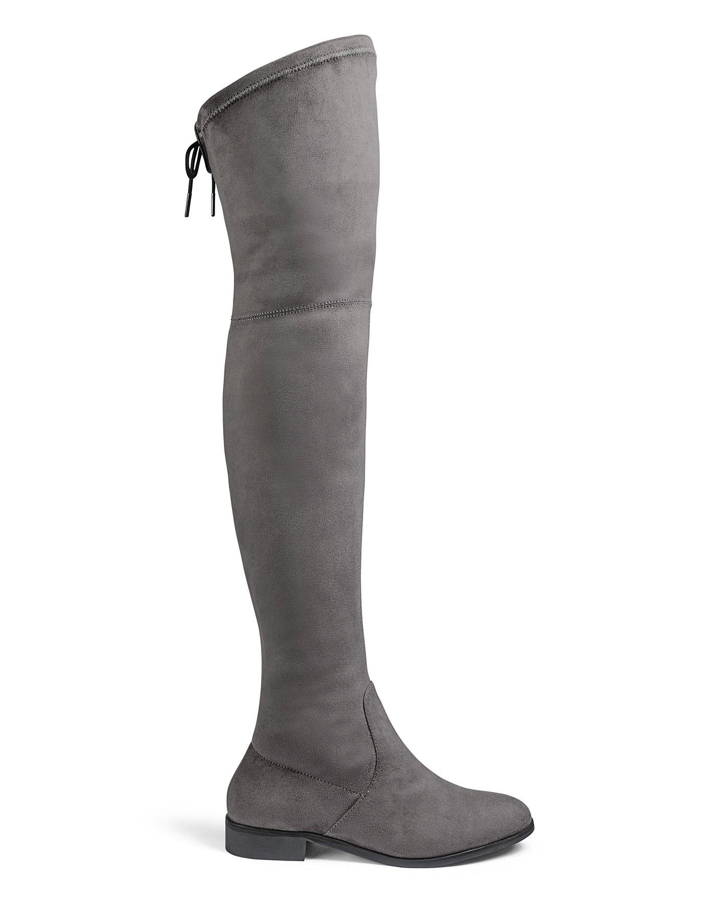 Nicole Boots Ex Wide Fit Standard Calf