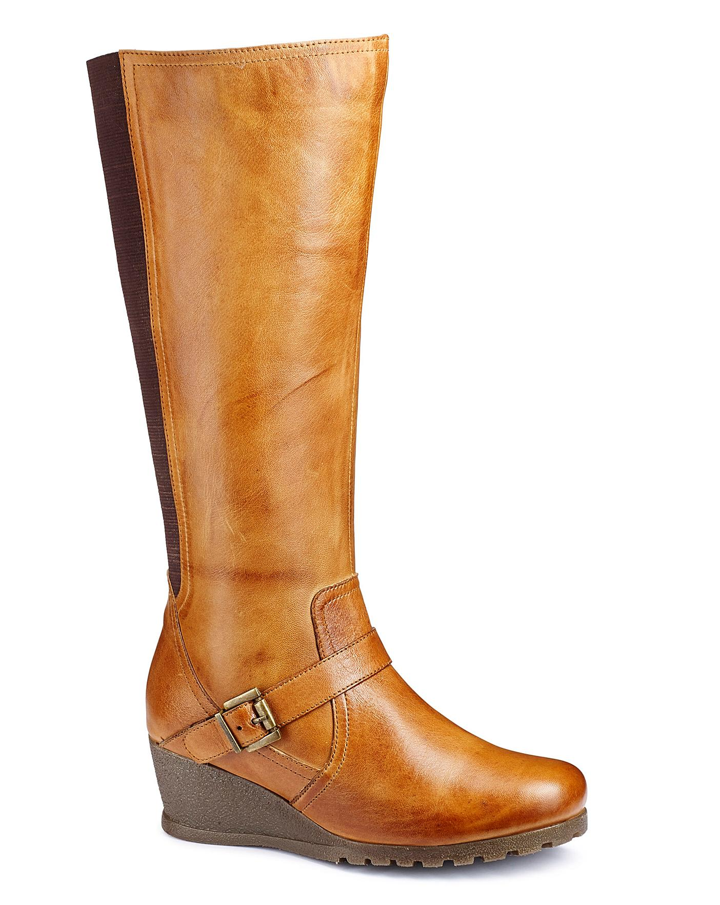 Lotus Boots E Fit Standard Calf | Simply Be