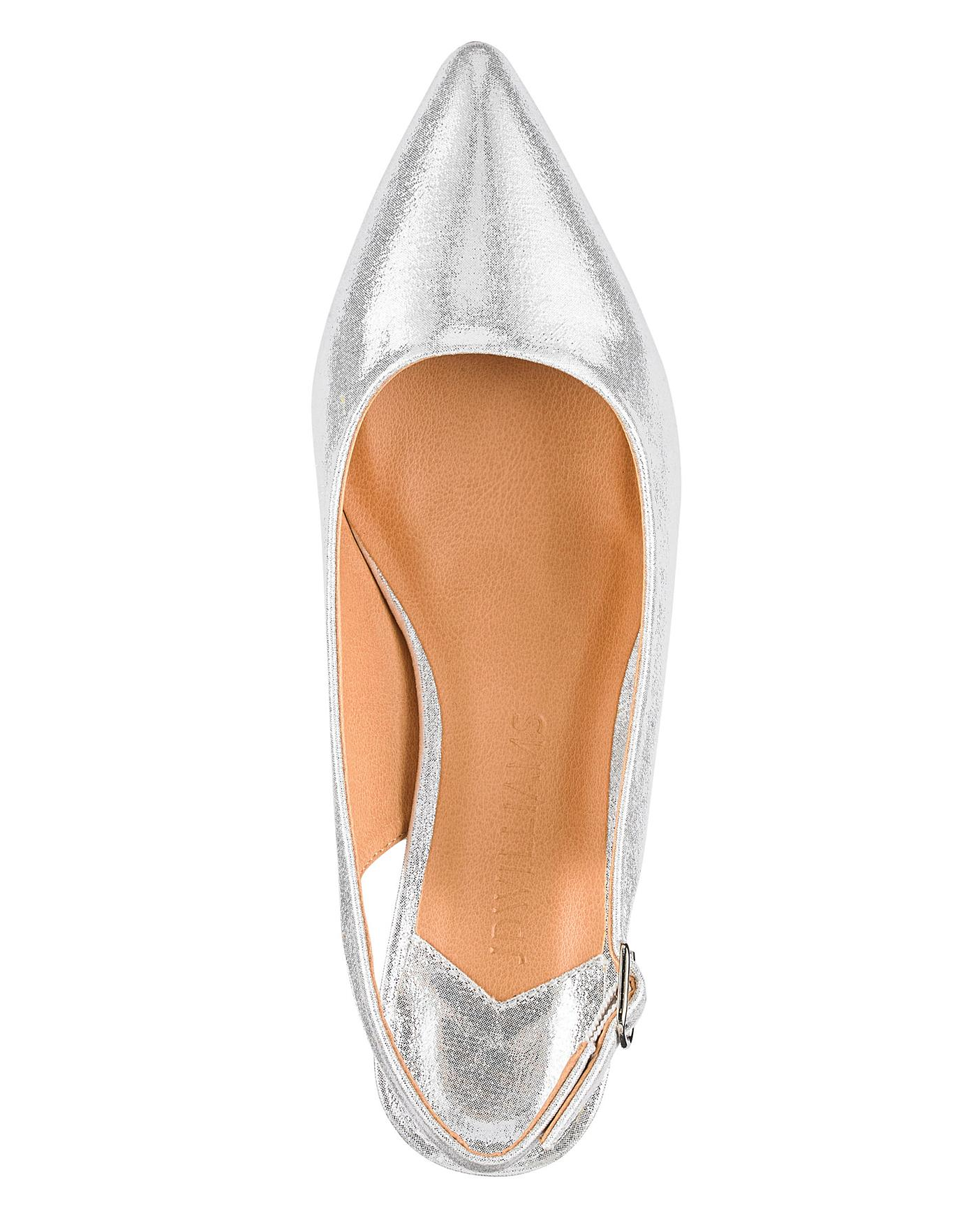 0a22d70564a Flexi Sole Kitten Heel Shoes EEE Fit