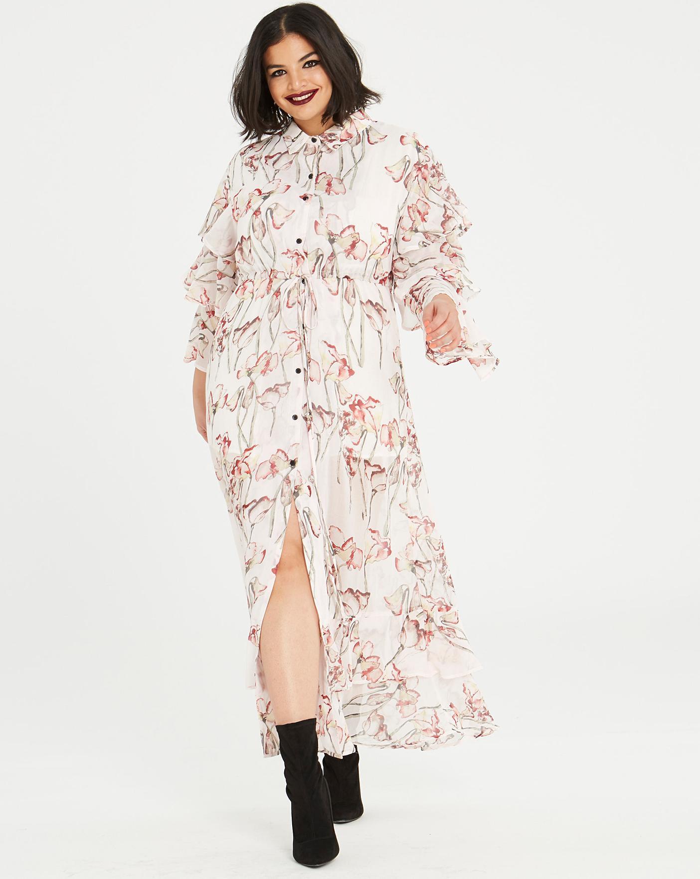 aa515f482aa1 Religion Care Maxi Dress | Simply Be