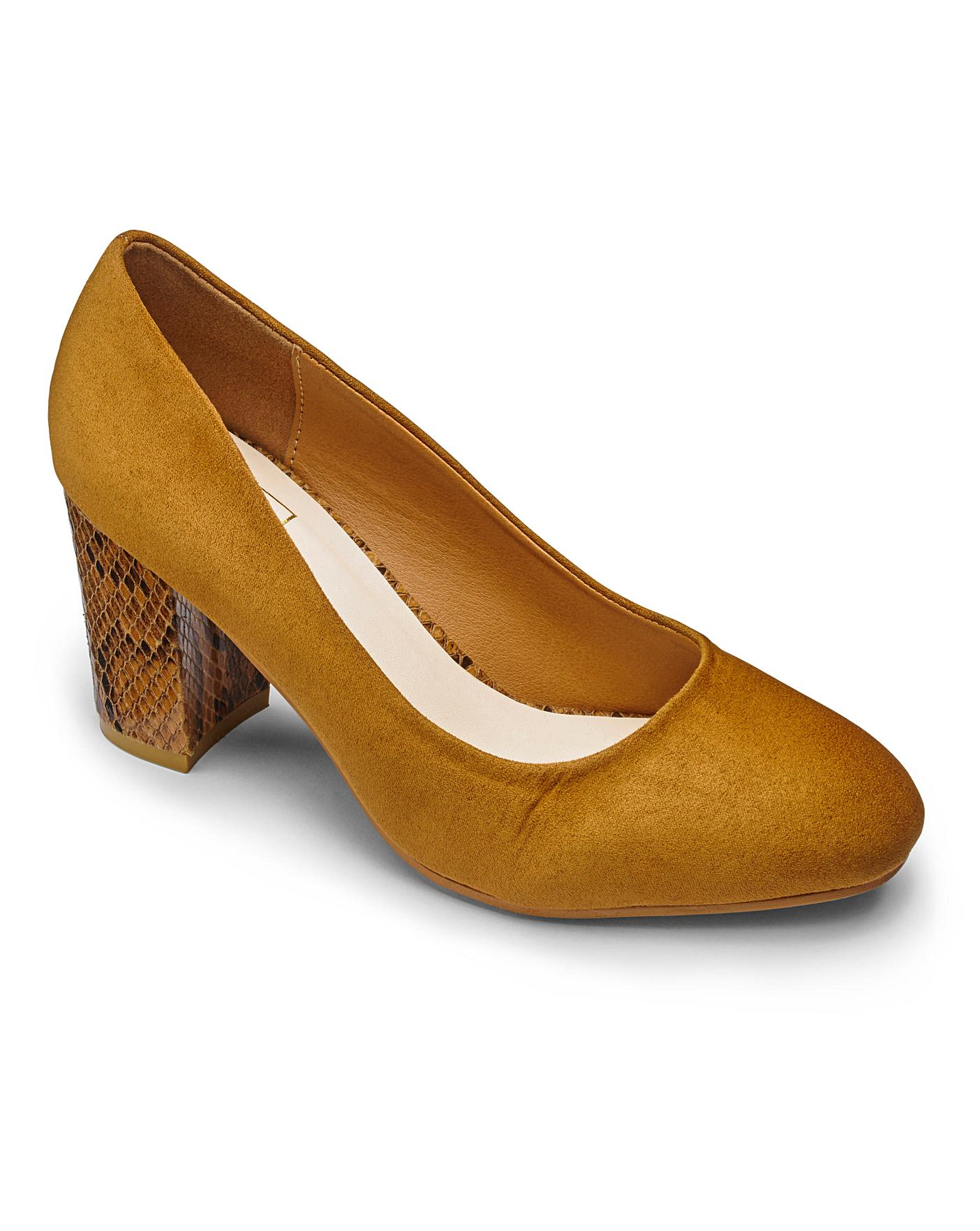 Sole Diva Court Shoes E Fit | Marisota