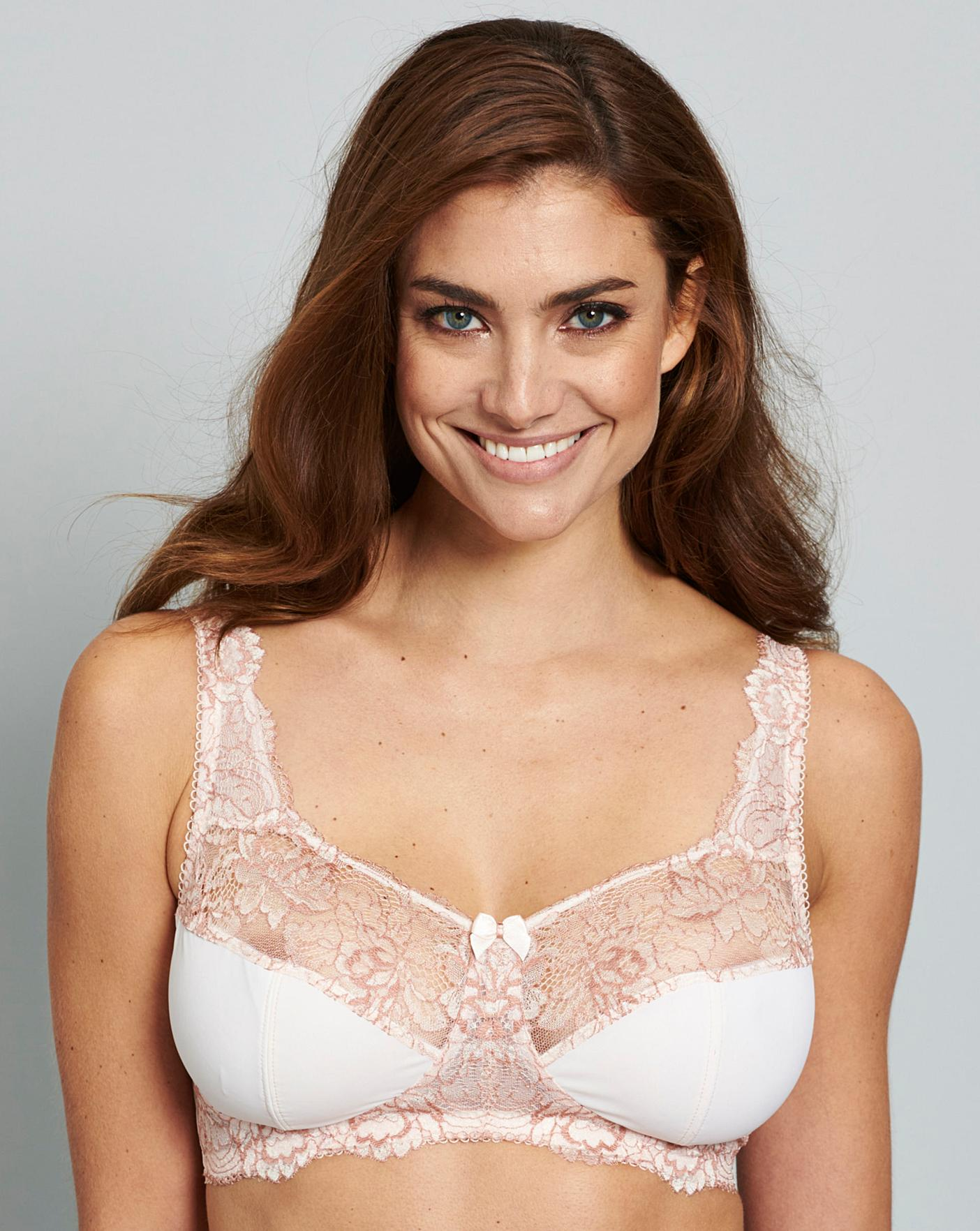 Womens Two Pack Ella Non Wired Bras Simply Be