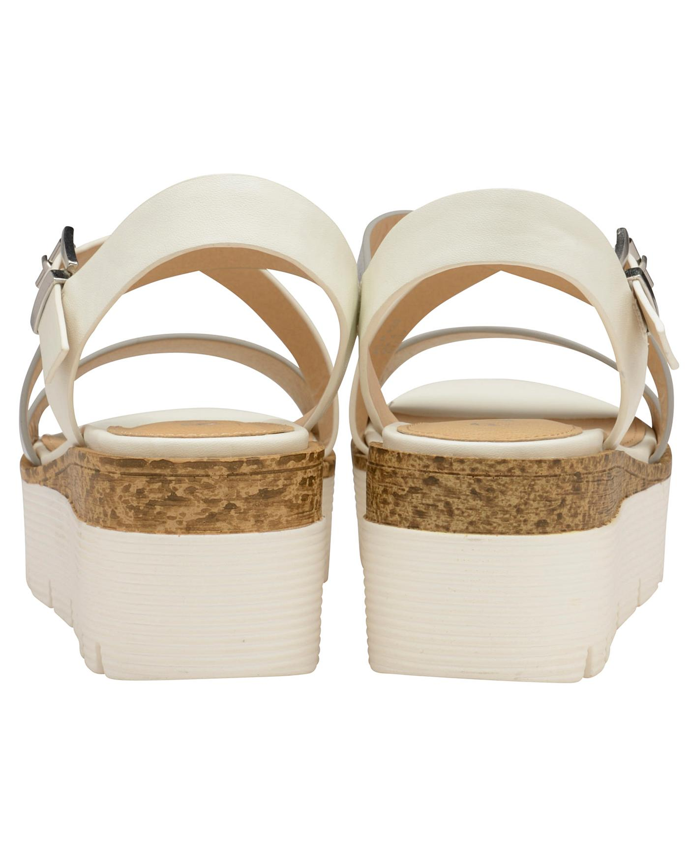 3c3a591e37e2 Description. This item is despatched direct from the supplier. Ravel Layton  Flatform Wedge Sandals ...
