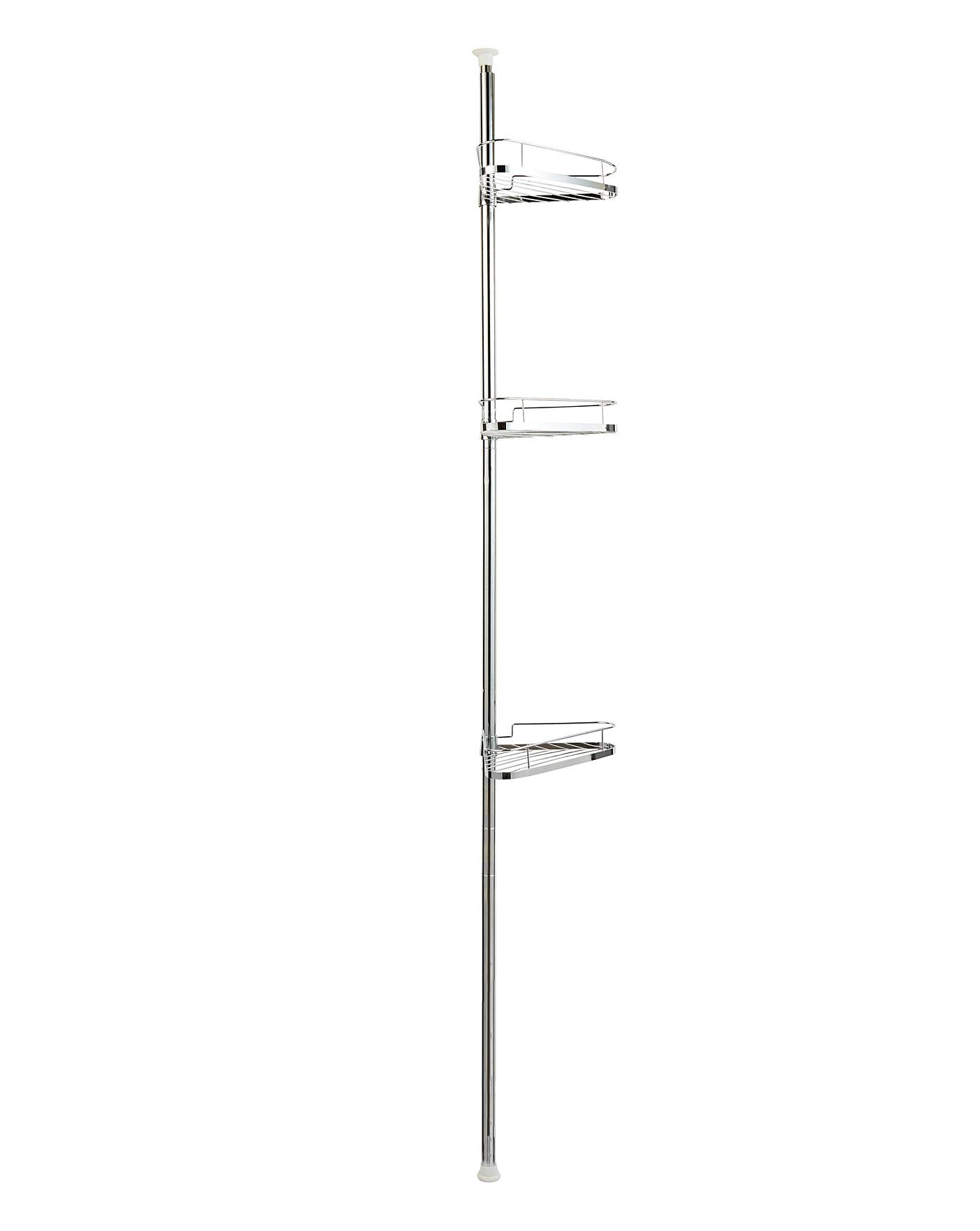 Floor To Ceiling 3 Tier Shower Caddy
