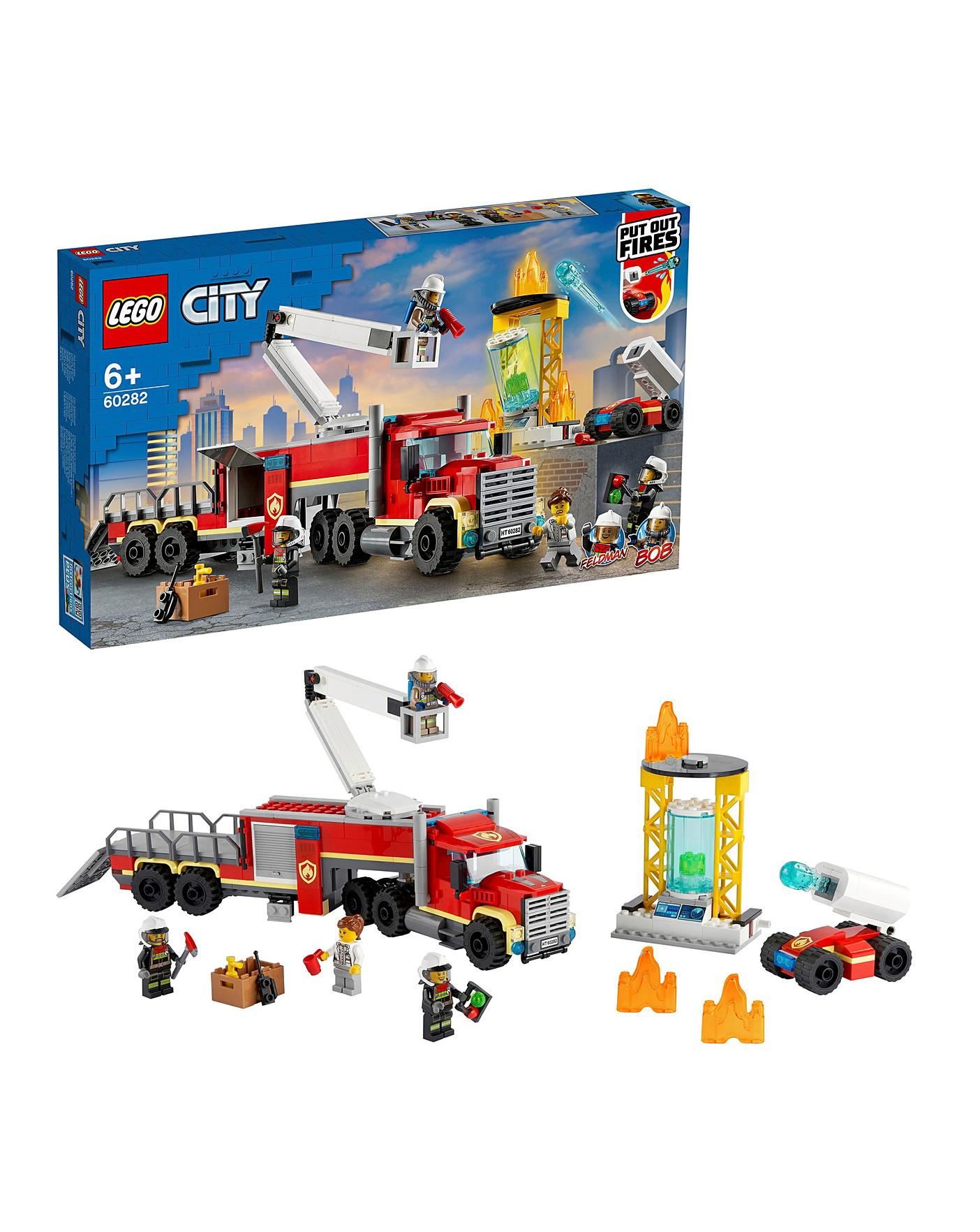 Lego City Fire Command Unit Oxendales