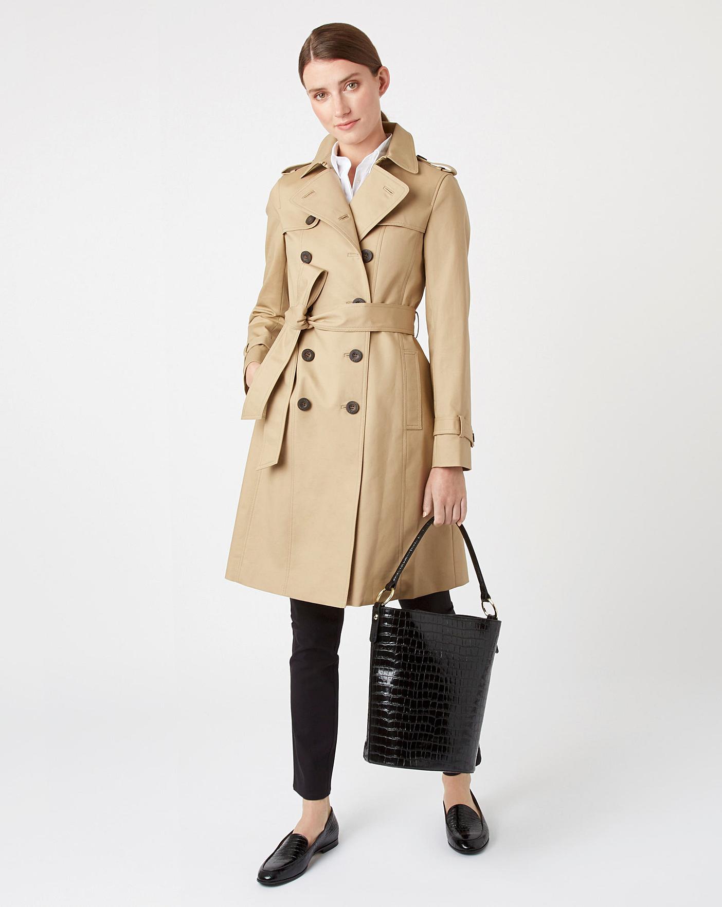 Beige 'Saskia' Trench Coat
