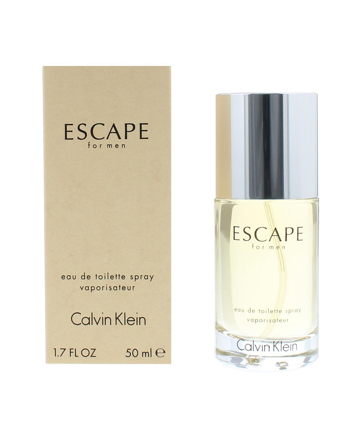 sale uk innovative design really comfortable Calvin Klein Escape For Men EDT