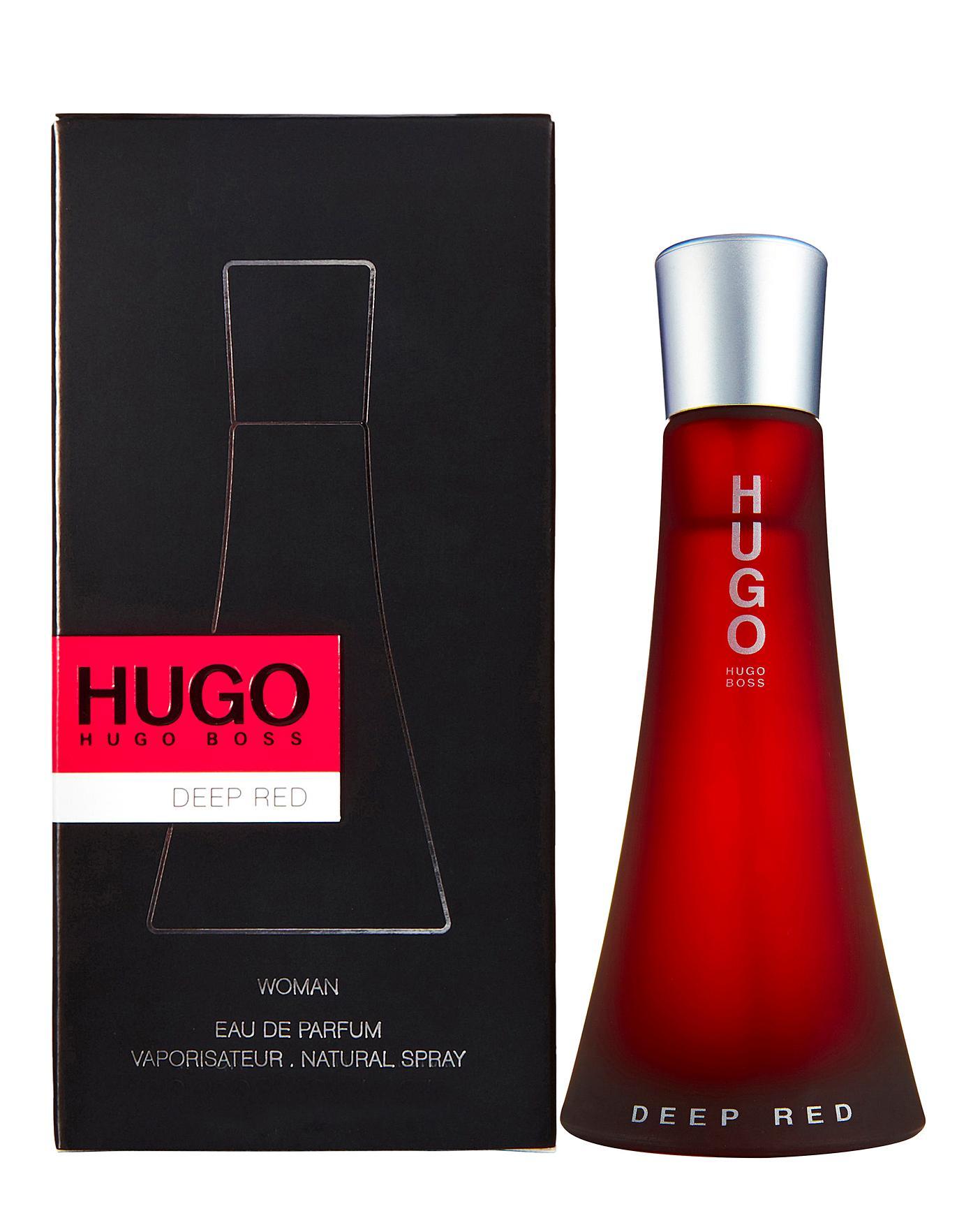 hugo boss deep red 90 ml
